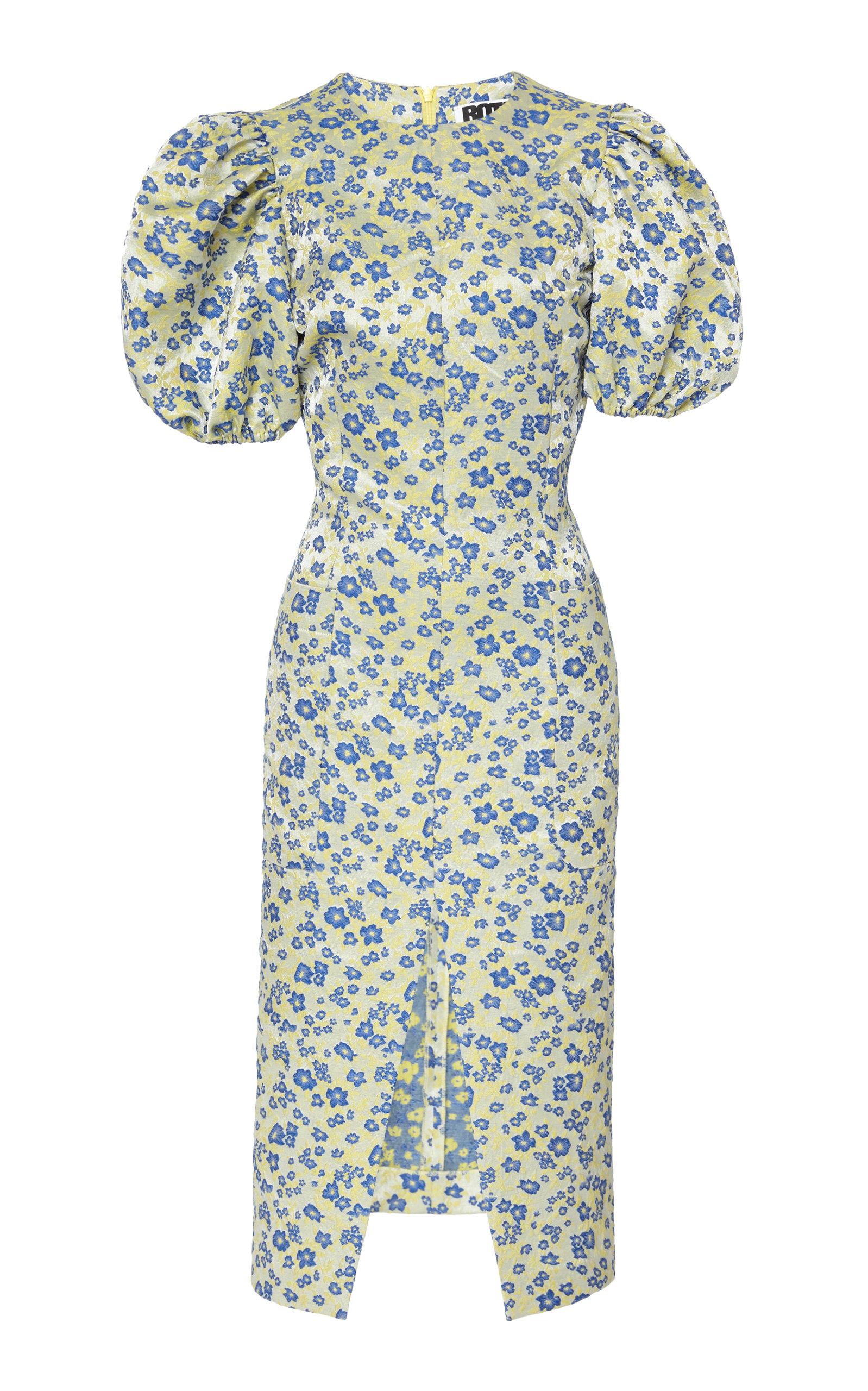 Buy ROTATE Katarina Satin Midi Dress online, shop ROTATE at the best price