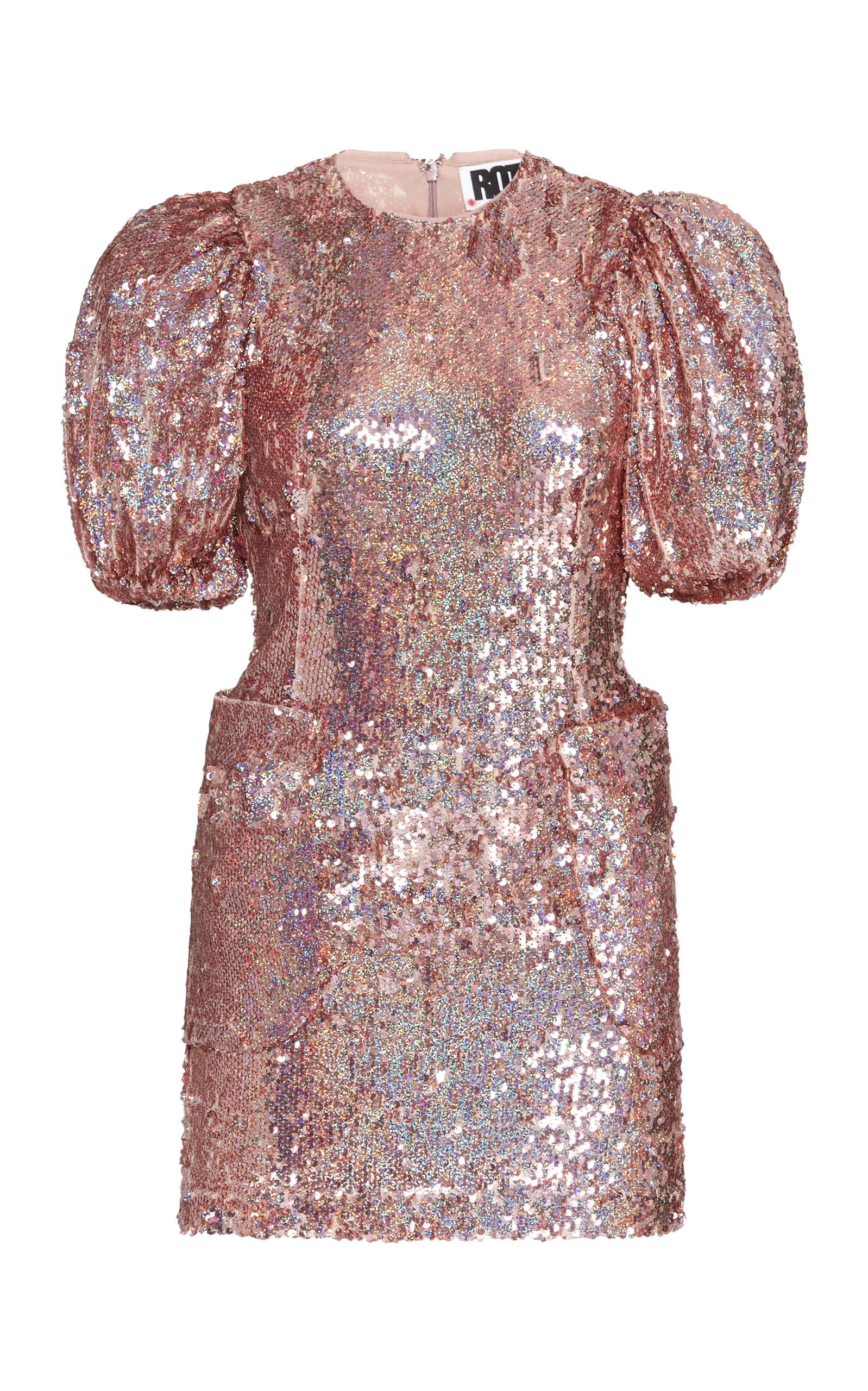 Buy ROTATE Katie Sequined Mini Dress online, shop ROTATE at the best price