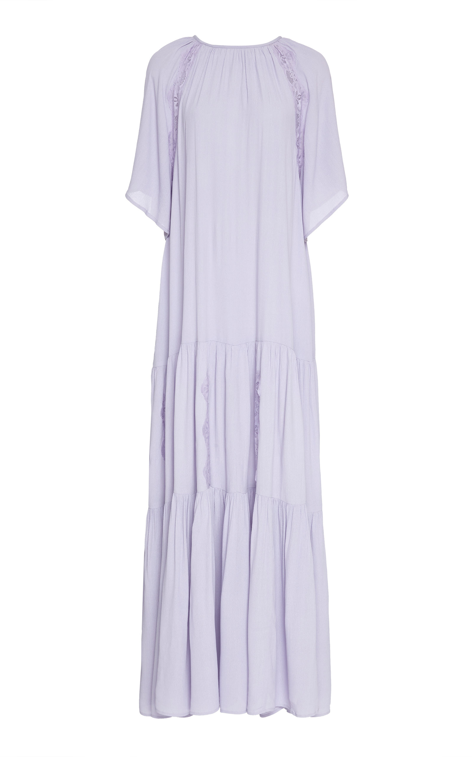 Buy byTiMo Tiered Crepe Maxi Dress online, shop byTiMo at the best price