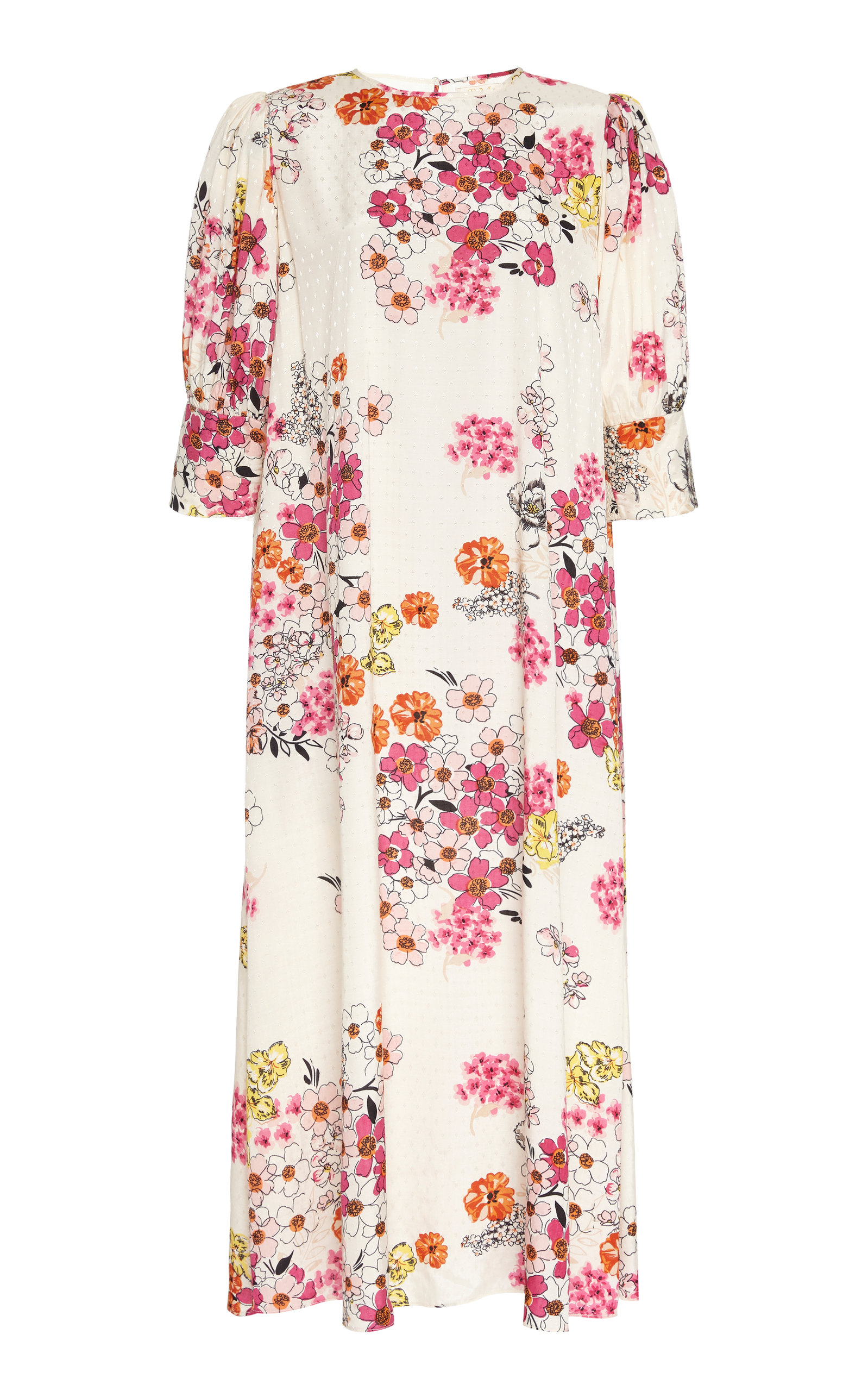Buy byTiMo Delicate Floral-Print Jersey Midi Dress online, shop byTiMo at the best price