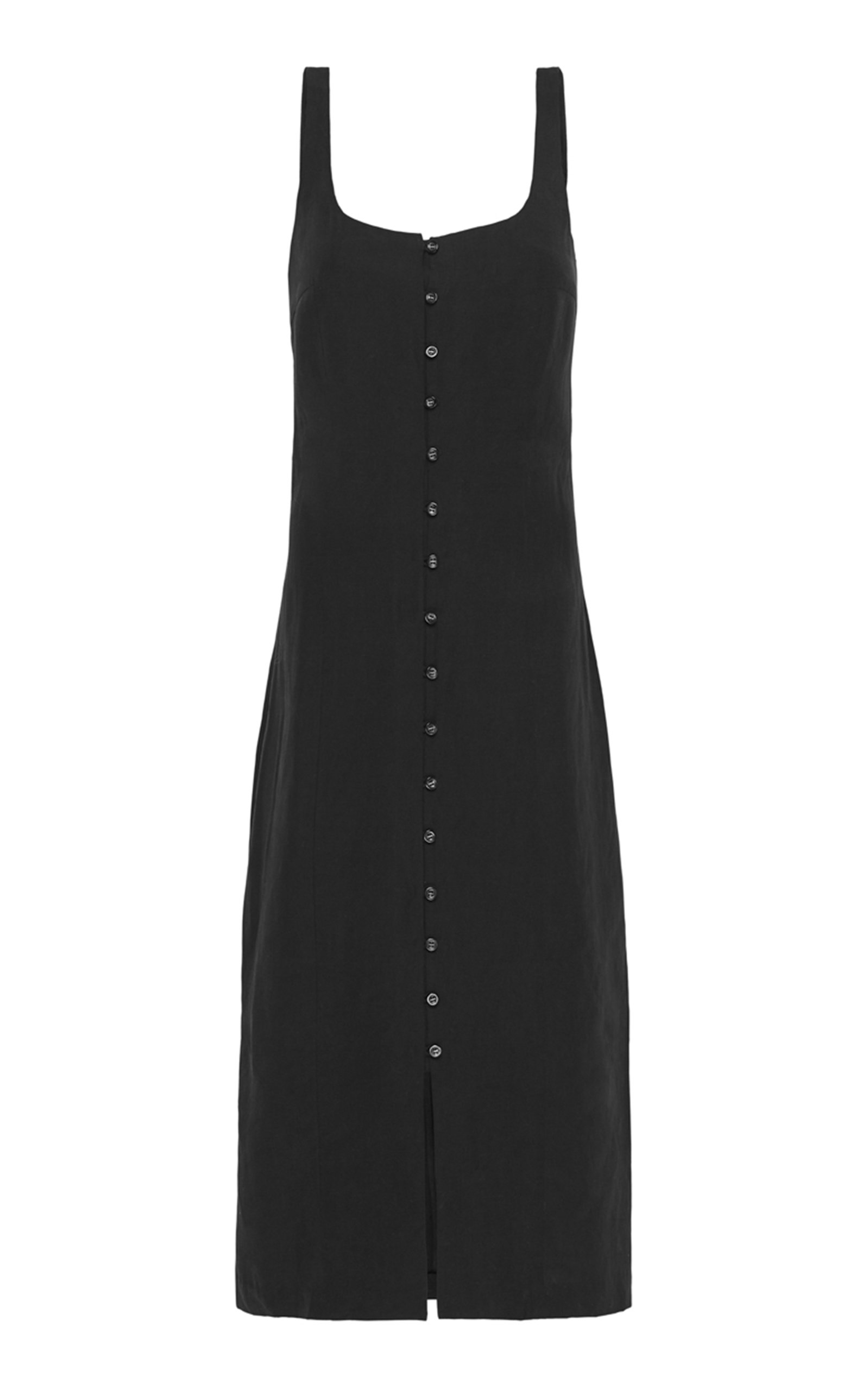 Buy St. Agni Ghita Linen-Blend Midi Dress online, shop St. Agni at the best price