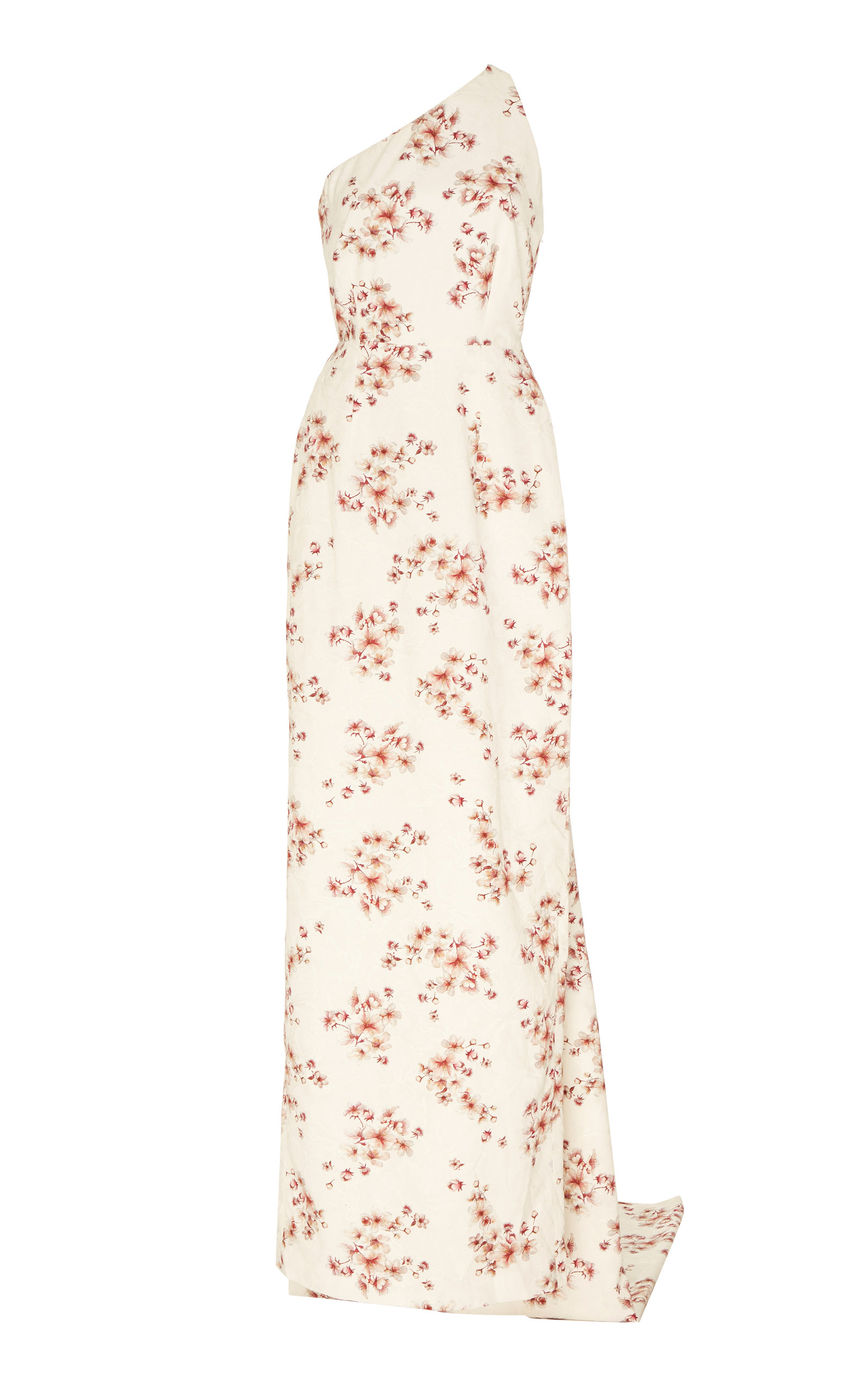 Buy Markarian Dido One-Shoulder Floral Brocade Gown online, shop Markarian at the best price