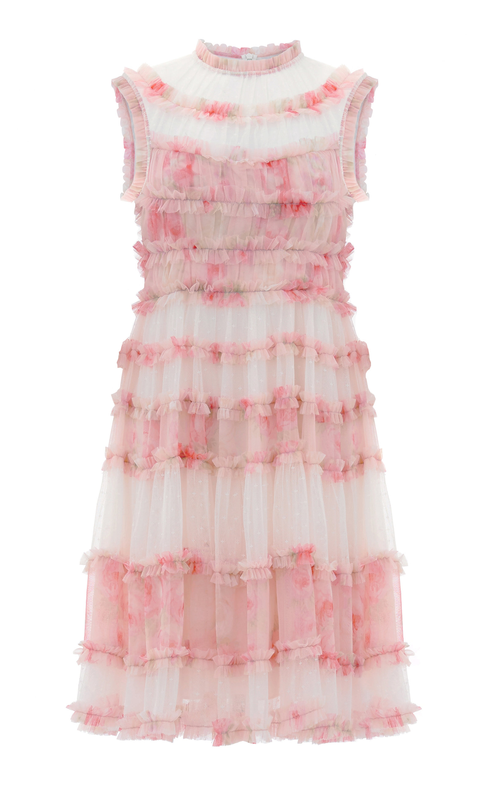 Buy Needle & Thread Memory Frilled Tulle Dress online, shop Needle & Thread at the best price