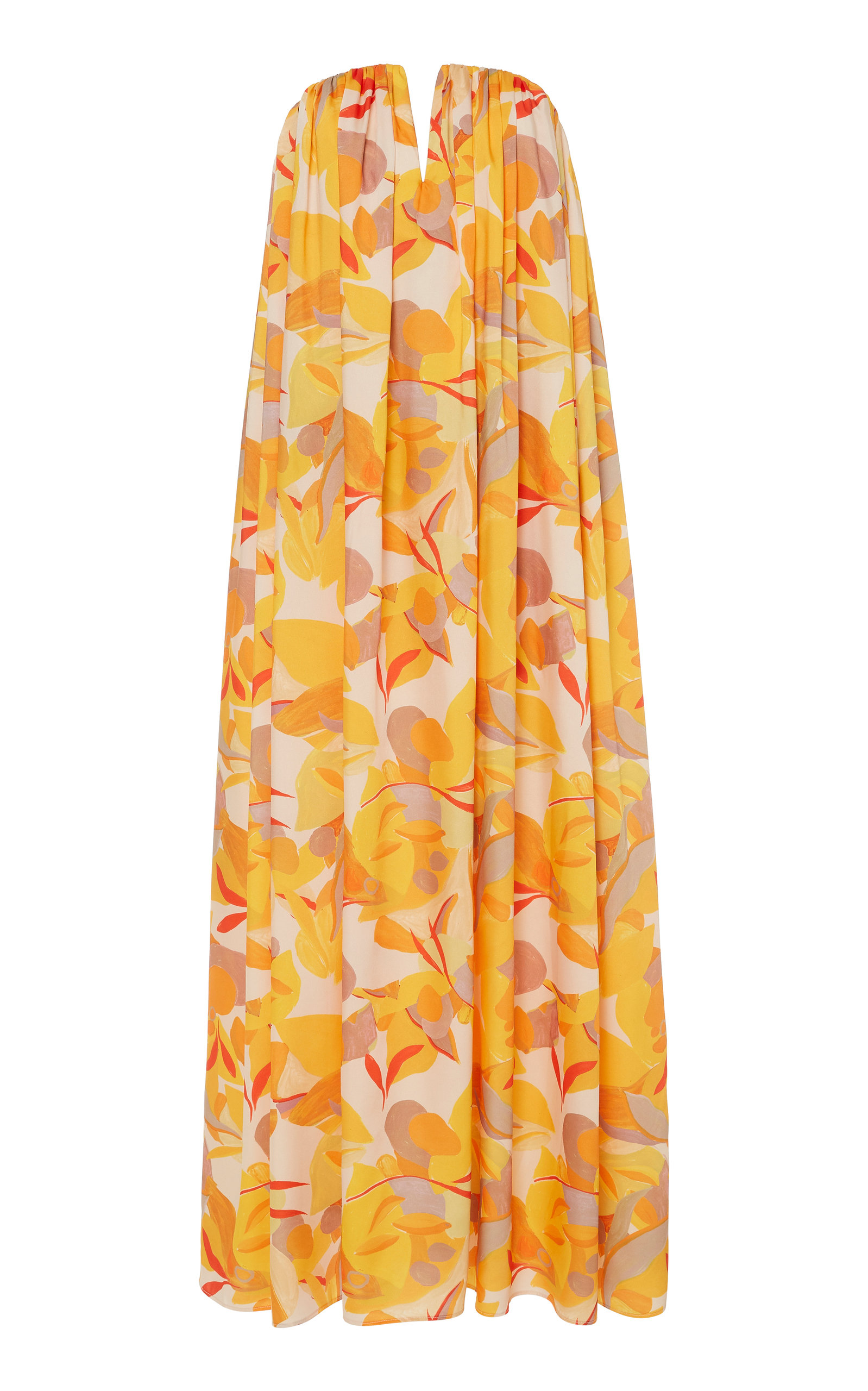 Buy Acler Haslam Golden Strapless Dress online, shop Acler at the best price