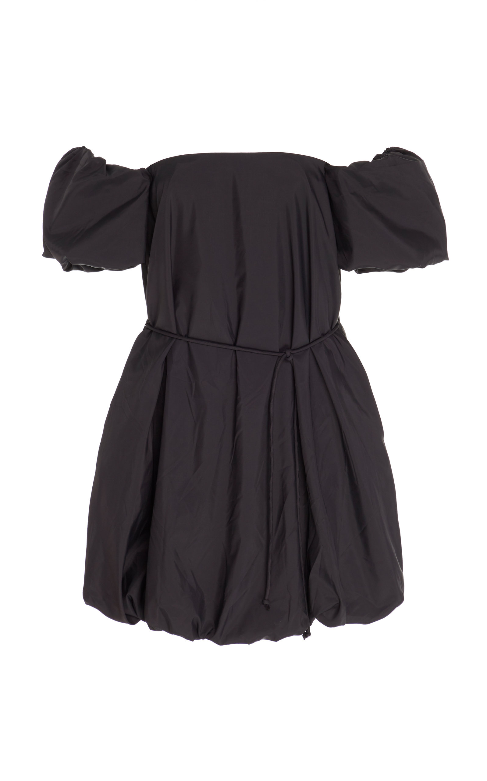 Buy Staud Ash Off-The-Shoulder Printed Broadcloth Mini Dress online, shop Staud at the best price