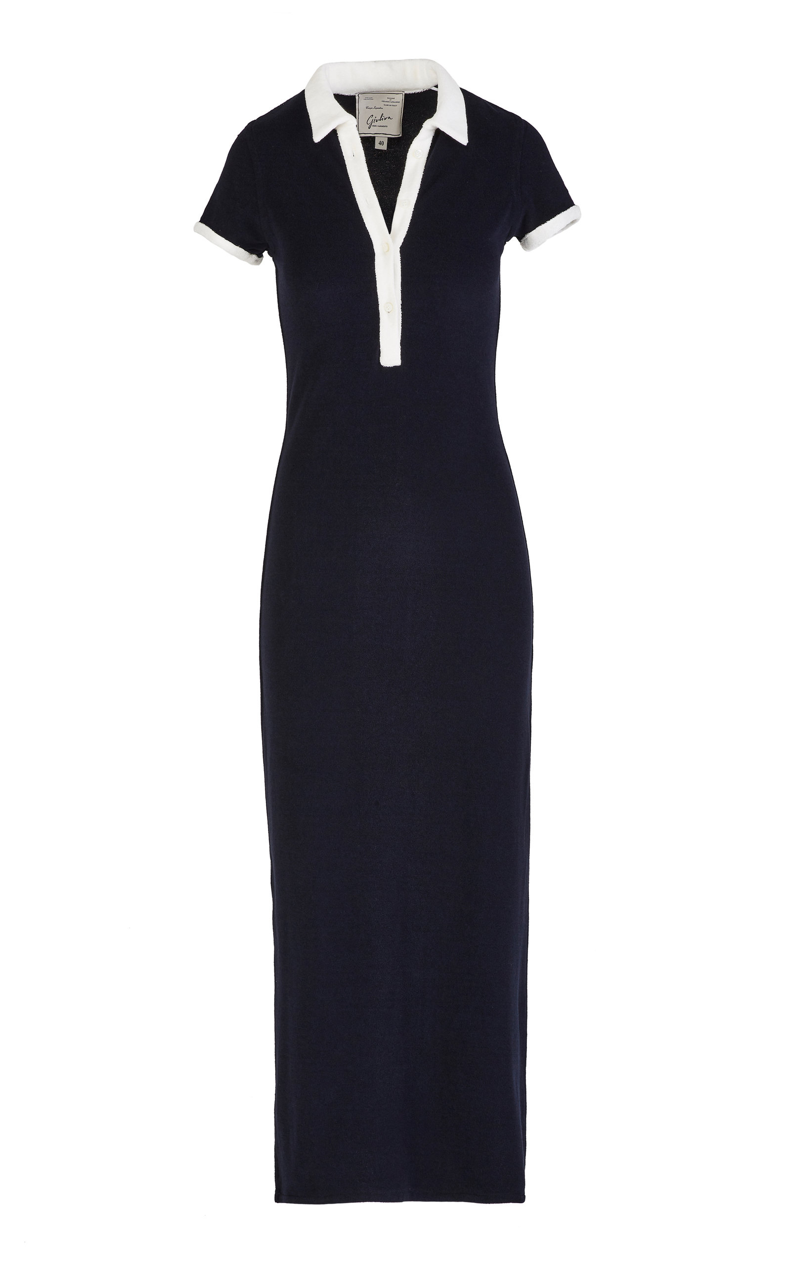 Buy Giuliva Heritage The Daphne Cotton Terrycloth Maxi Dress online, shop Giuliva Heritage at the best price