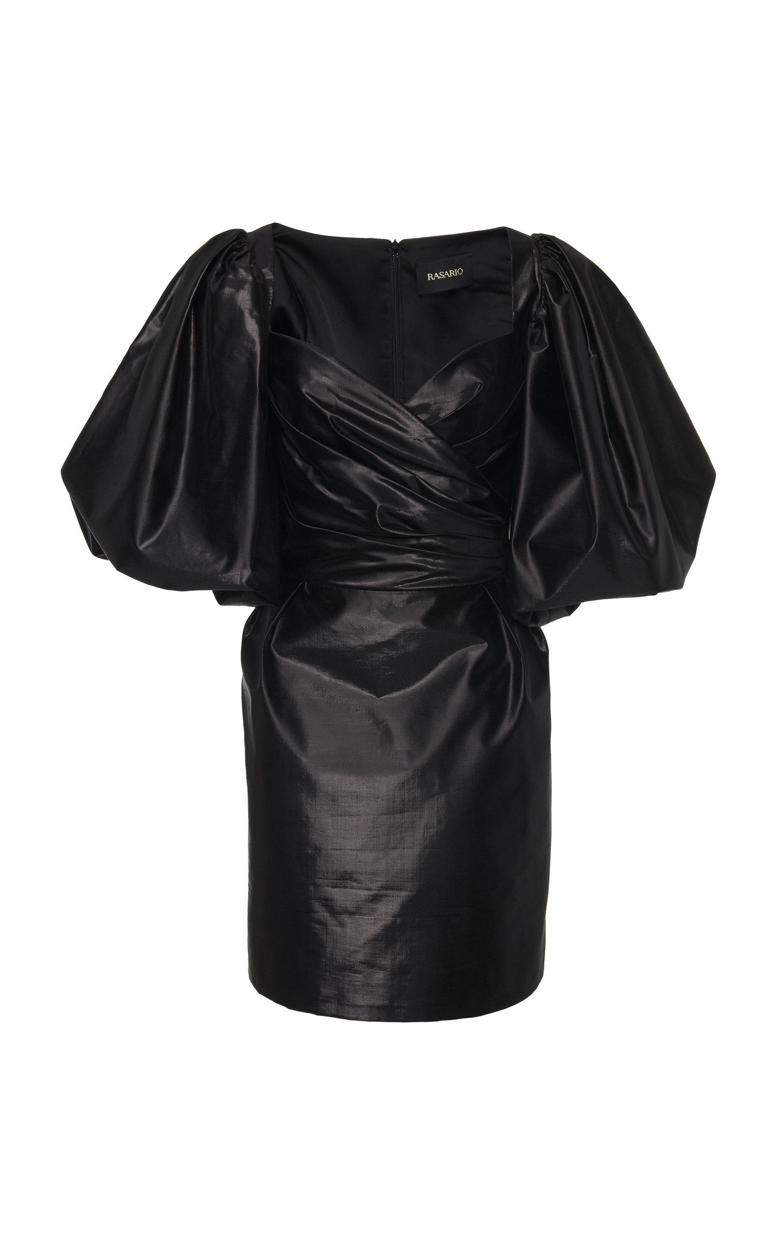 Buy Rasario Exclusive Metallic Silk Mini Dress online, shop Rasario at the best price