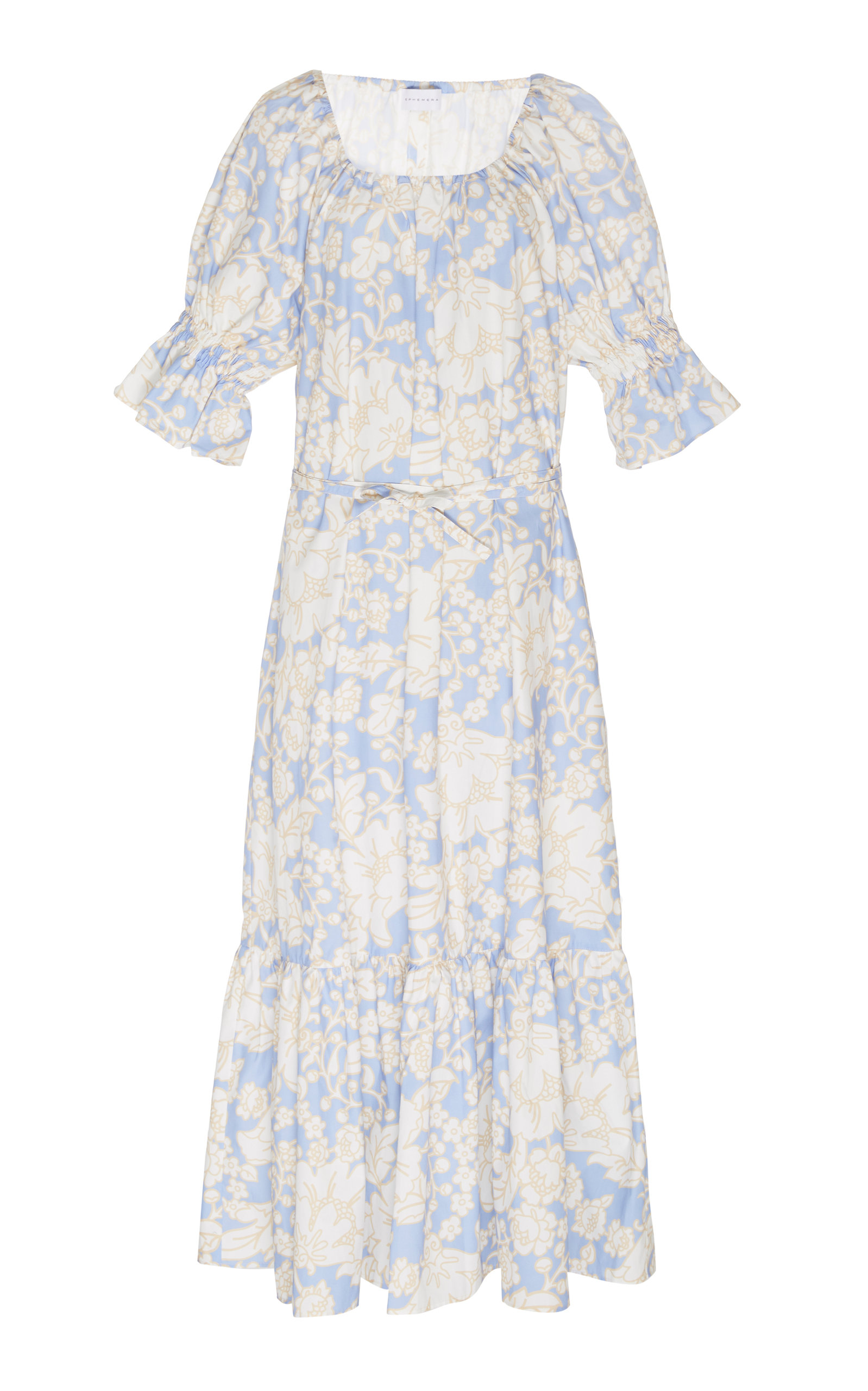 Buy Ephemera Zeppelin Floral-Print Cotton Maxi Dress online, shop Ephemera at the best price