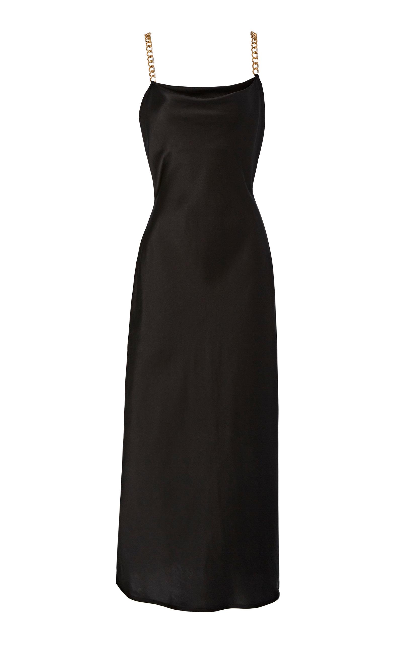 Buy Olivia von Halle Bibi Silk Dress online, shop Olivia von Halle at the best price
