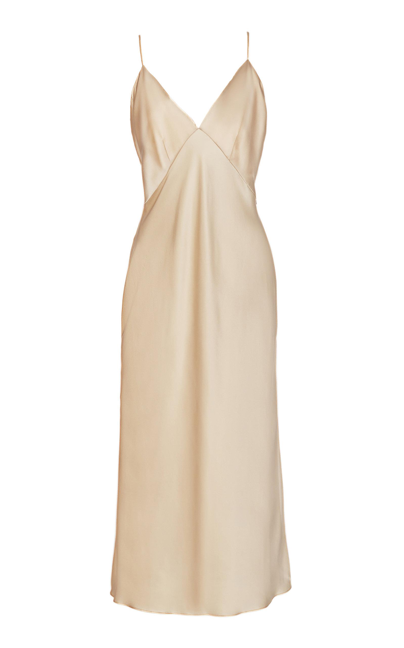 Buy Olivia von Halle Issa Silk Dress online, shop Olivia von Halle at the best price