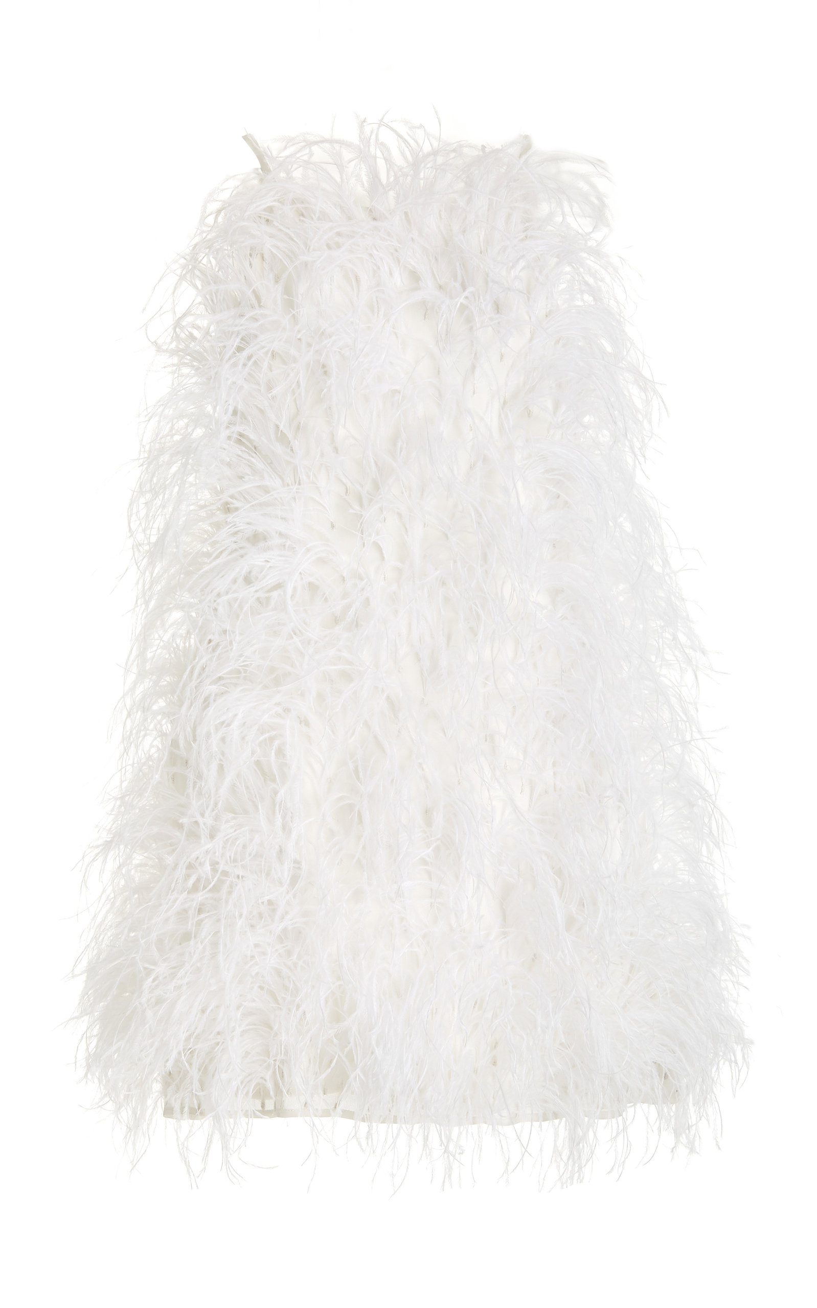 Buy Cult Gaia Shannon Feather-Embellished Silk Mini Dress online, shop Cult Gaia at the best price
