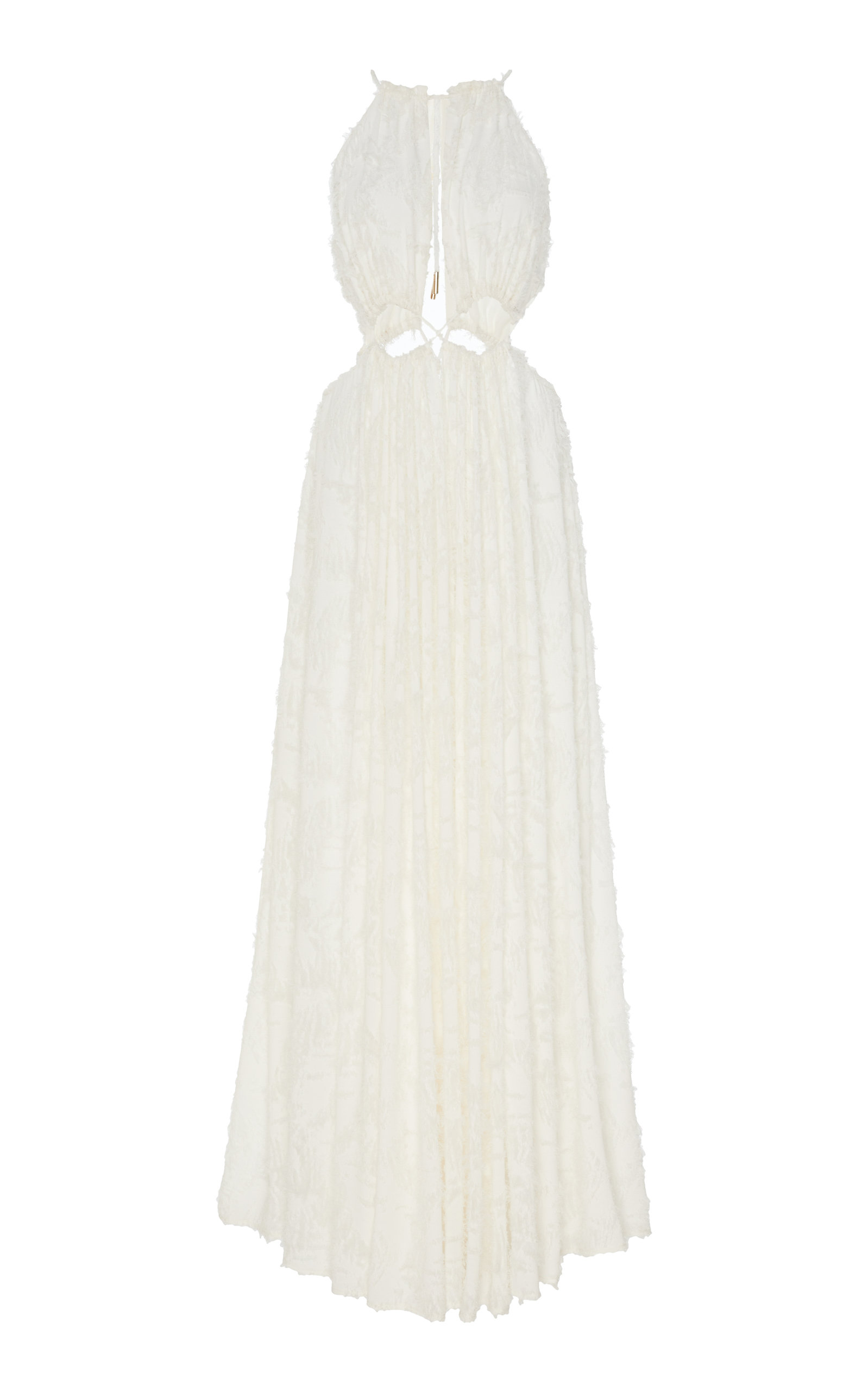 Buy Cult Gaia Thera Flocked Georgette Maxi Dress online, shop Cult Gaia at the best price