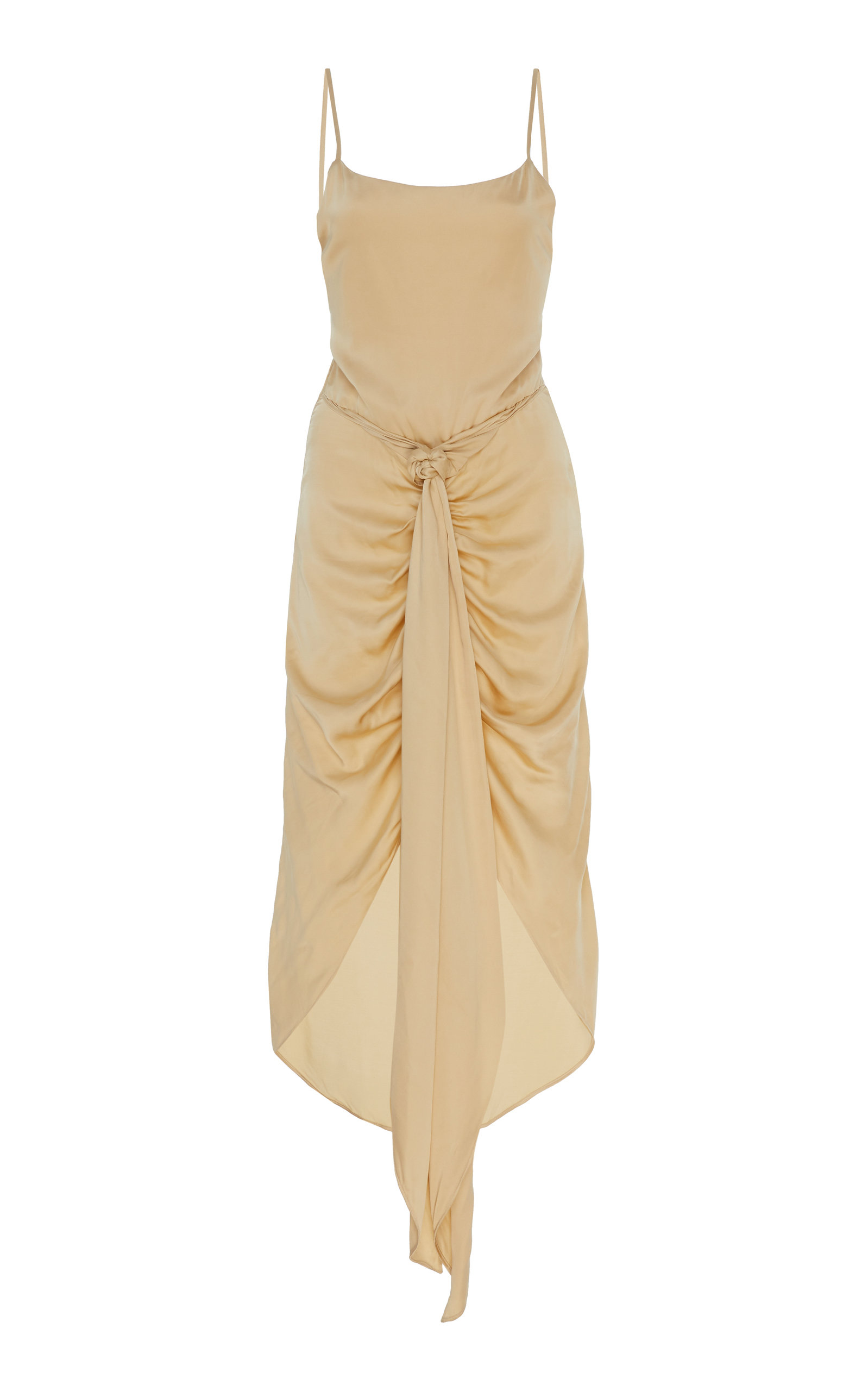 Buy Cult Gaia Natasha Ruched Slip Dress online, shop Cult Gaia at the best price