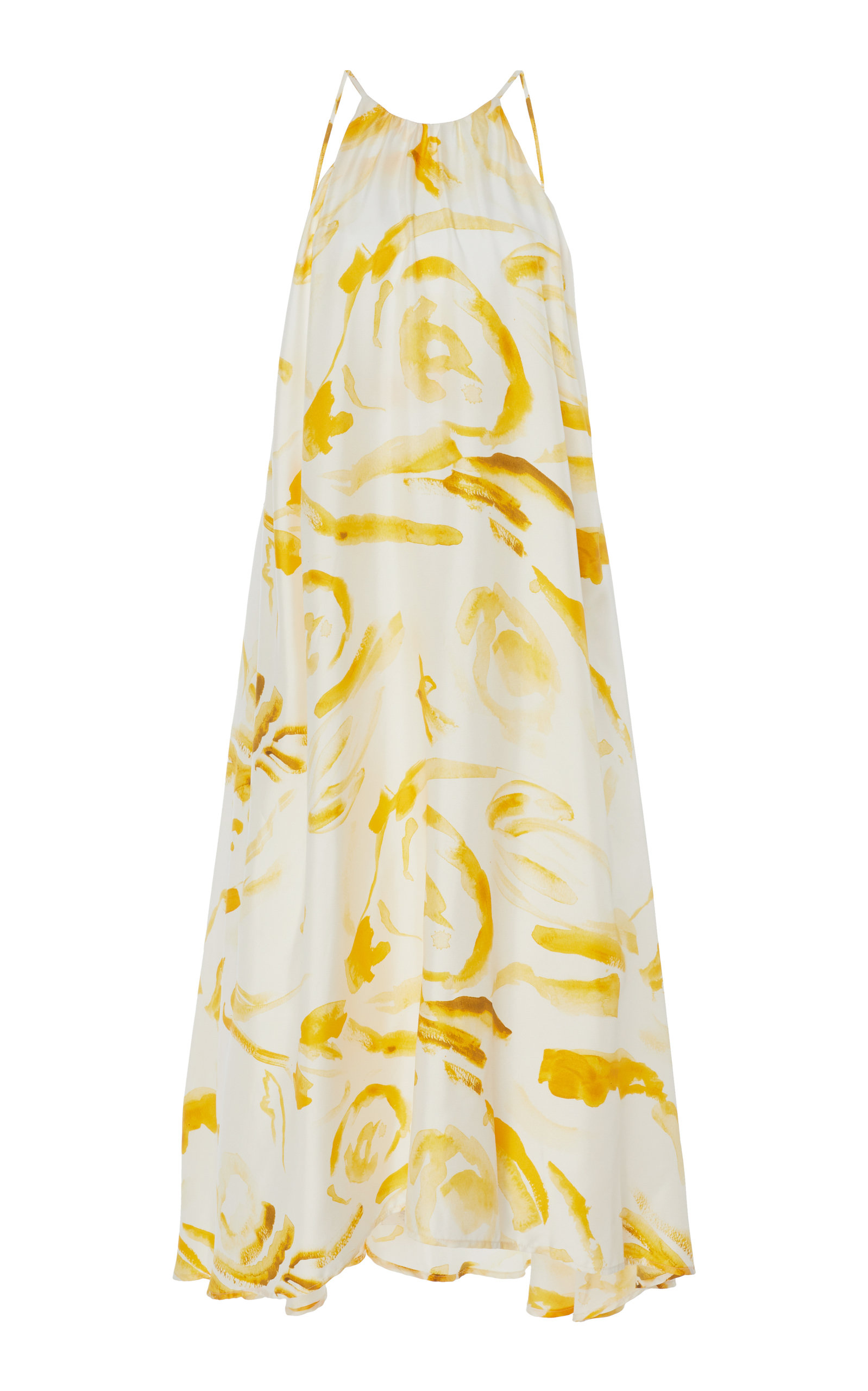 Buy Cult Gaia Chelsea Printed Silk Midi Dress online, shop Cult Gaia at the best price