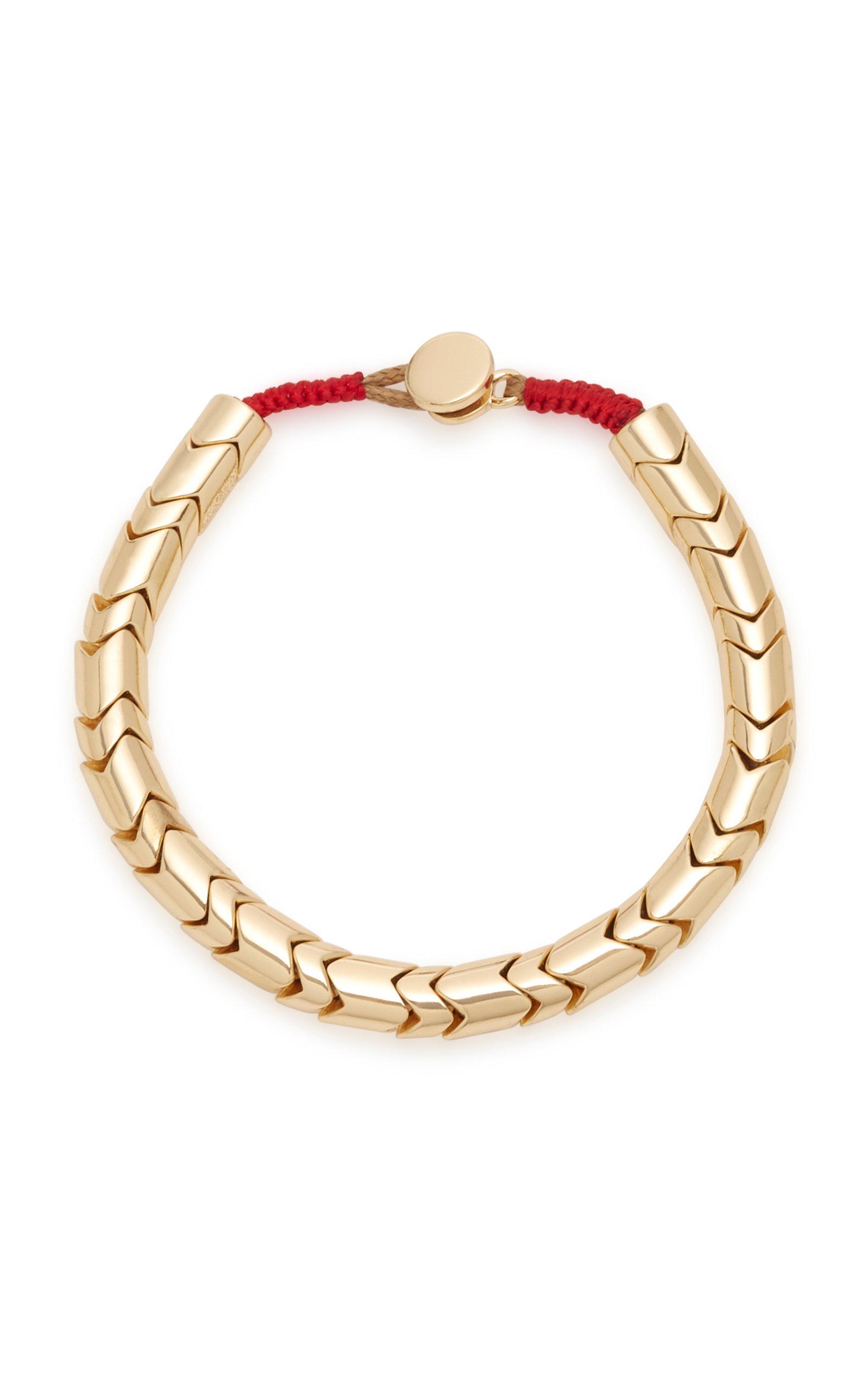 Golden Wave Gold Plated Bracelet By Roxanne Assoulin Moda Operandi