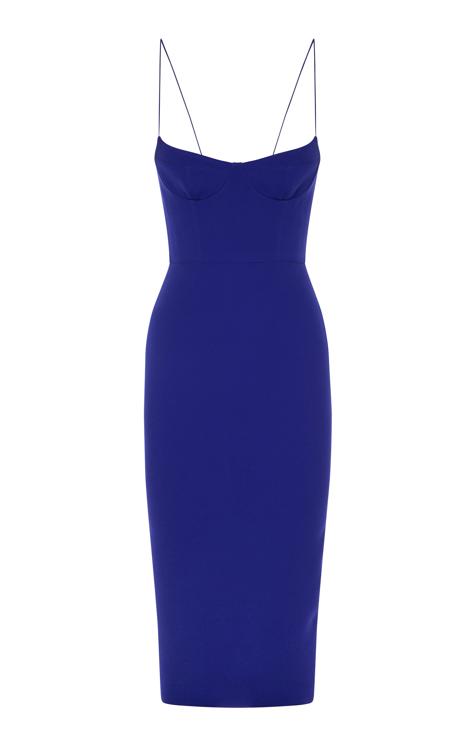 Buy Alex Perry Avery Crepe Midi Dress online, shop Alex Perry at the best price