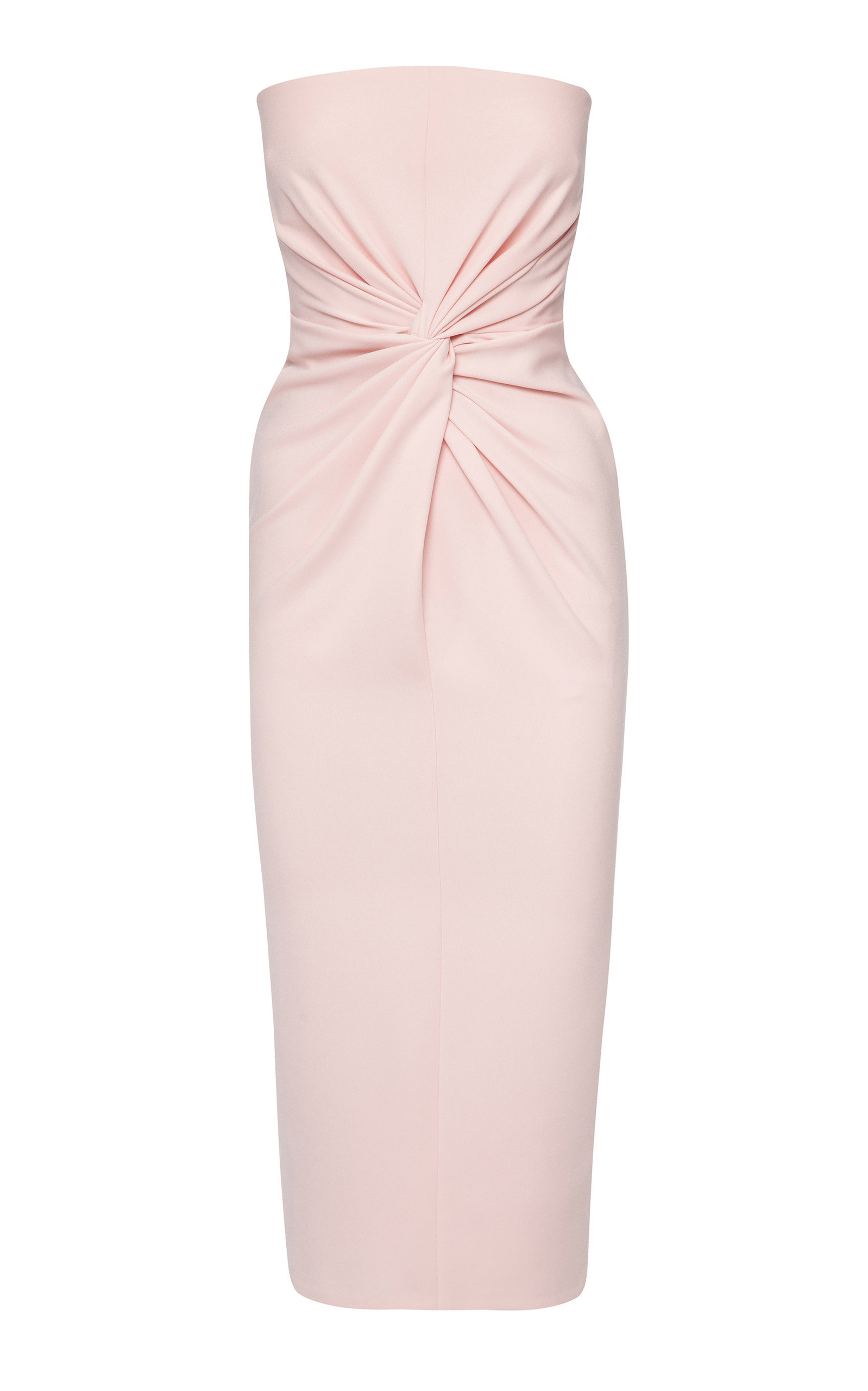 Buy Alex Perry Lindsey Ruched Crepe Midi Dress online, shop Alex Perry at the best price