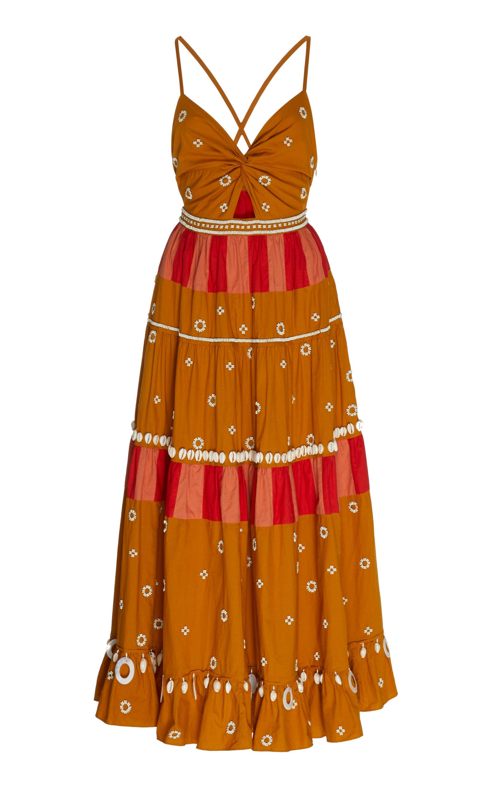 Buy Ulla Johnson Kali Cotton Dress online, shop Ulla Johnson at the best price