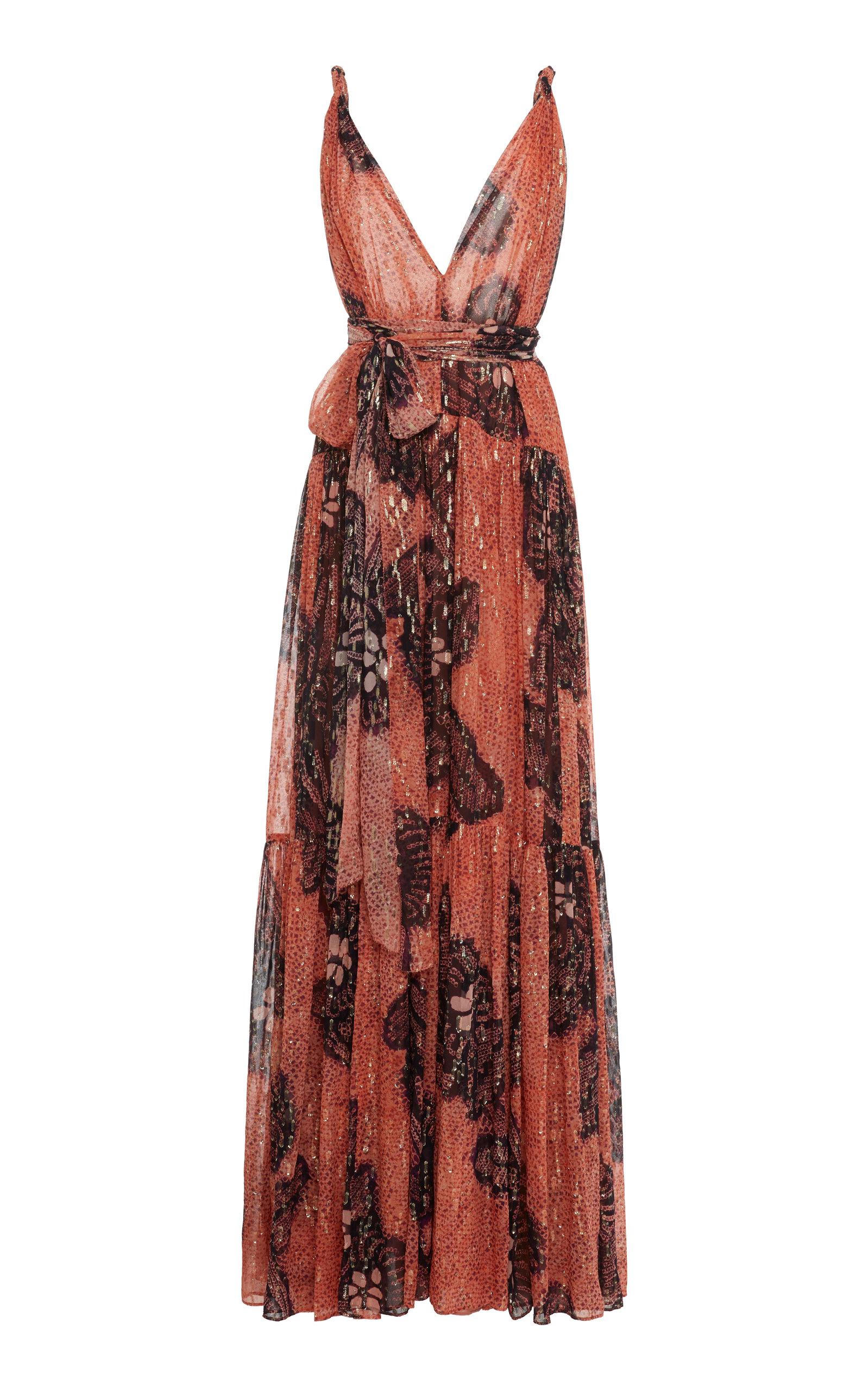 Buy Ulla Johnson Kemala Printed Silk Dress online, shop Ulla Johnson at the best price