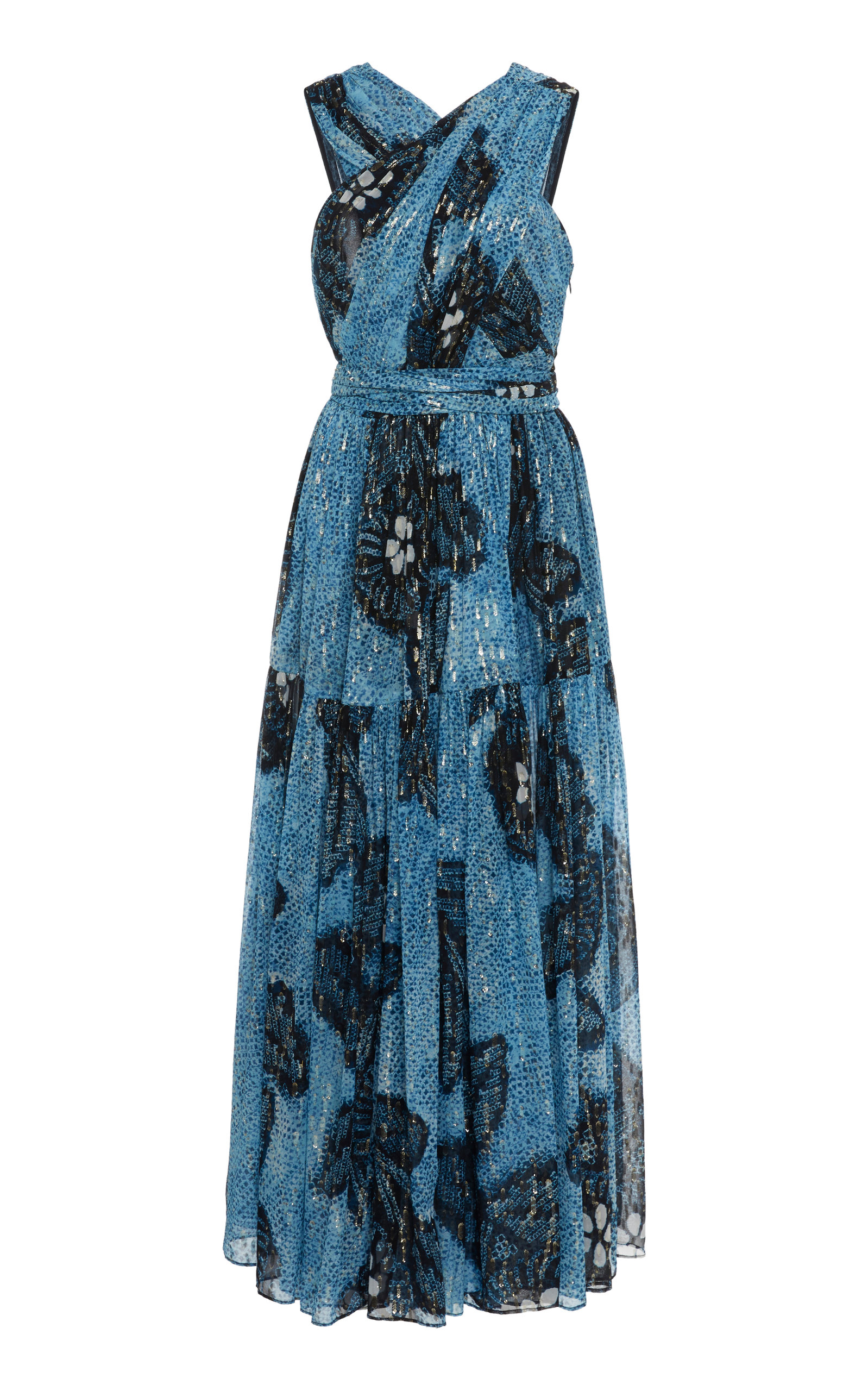Buy Ulla Johnson Adora Floral Silk Dress online, shop Ulla Johnson at the best price