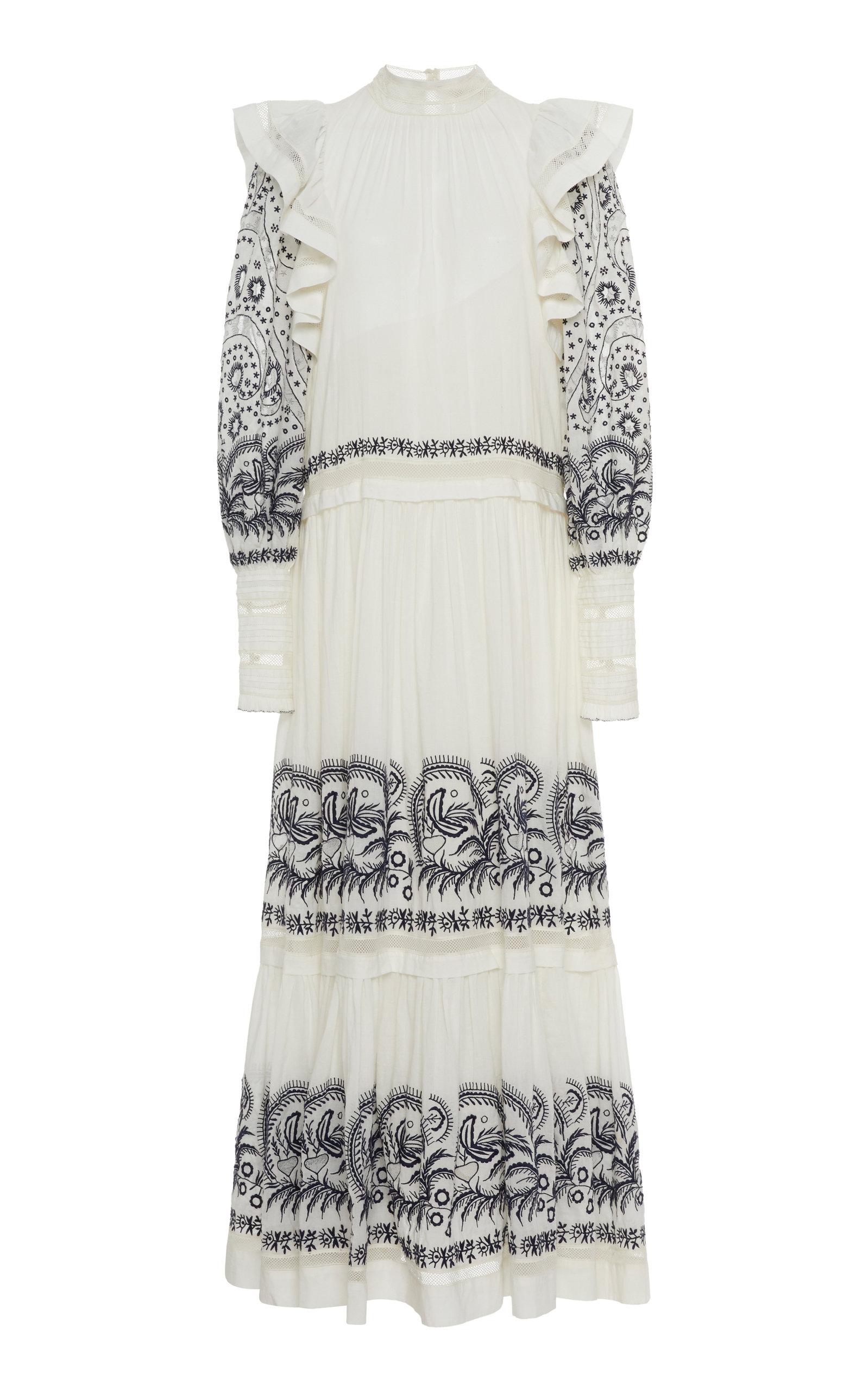 Buy Ulla Johnson Annabella Cotton Dress online, shop Ulla Johnson at the best price