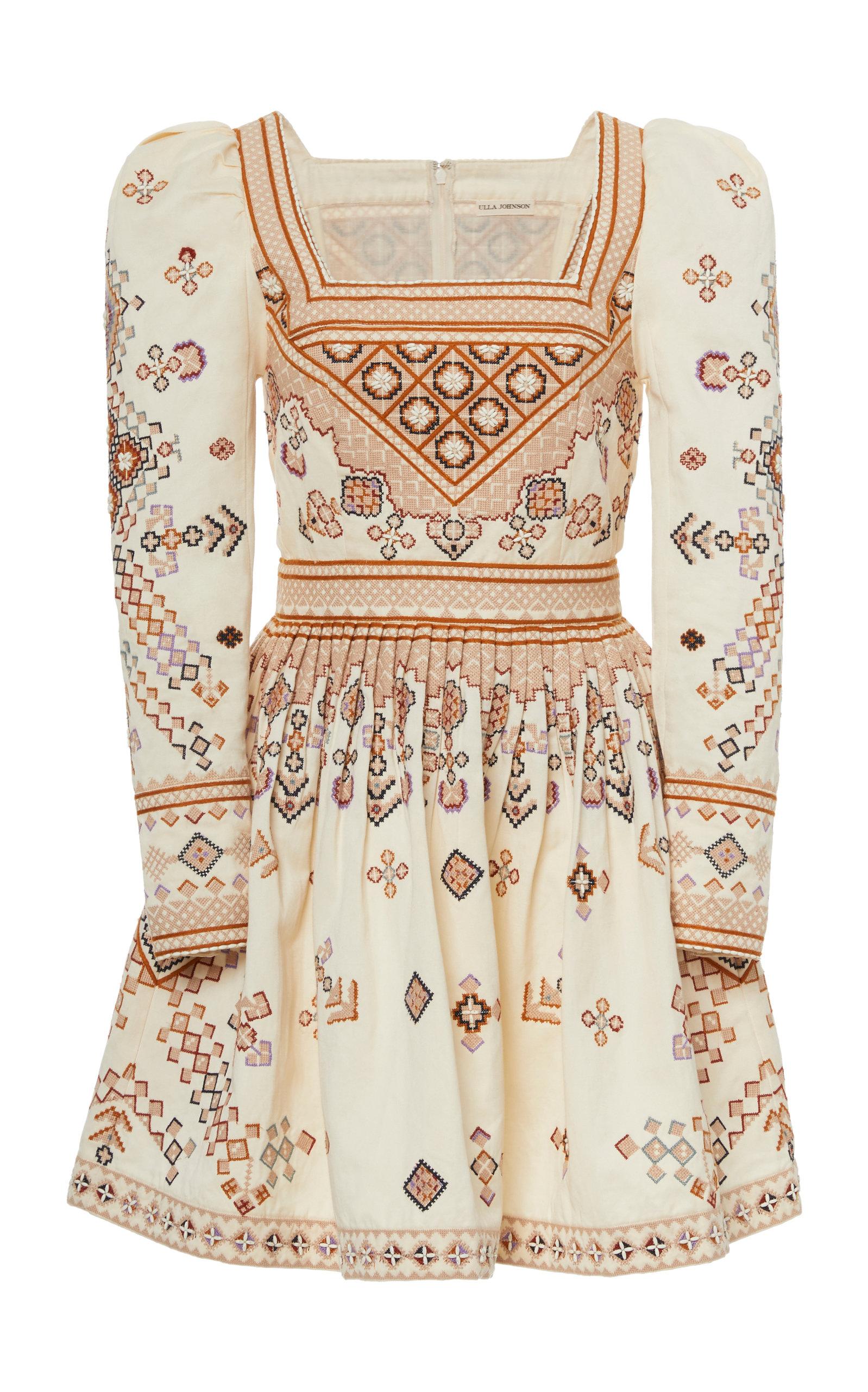 Buy Ulla Johnson Adilah Cotton Dress online, shop Ulla Johnson at the best price