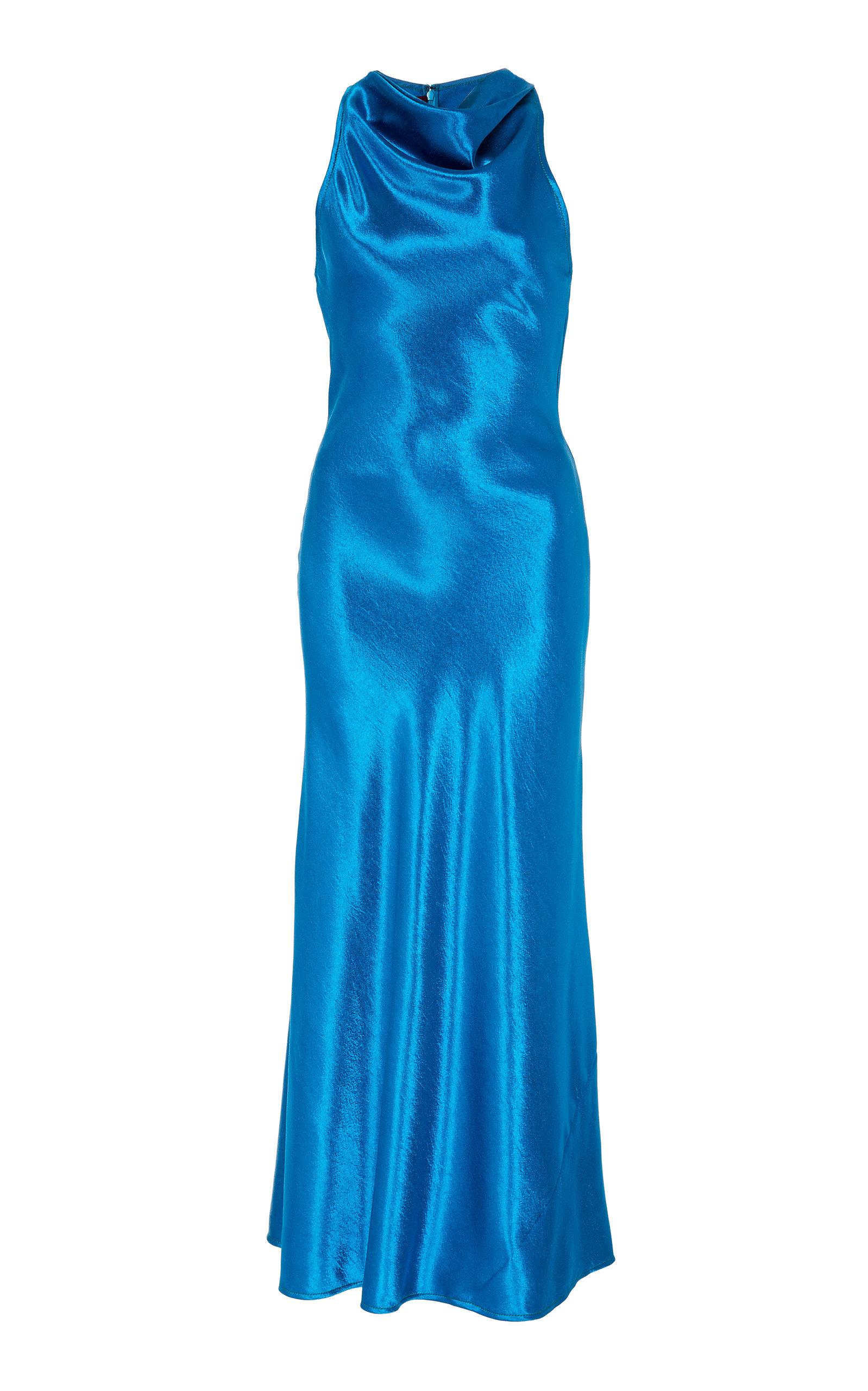 Buy Sies Marjan Andy Satin Midi Dress online, shop Sies Marjan at the best price