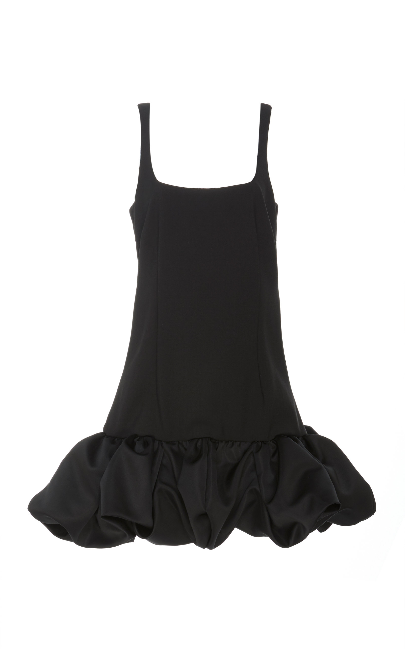 Buy Area Ruffled Crepe Mini Dress online, shop Area at the best price