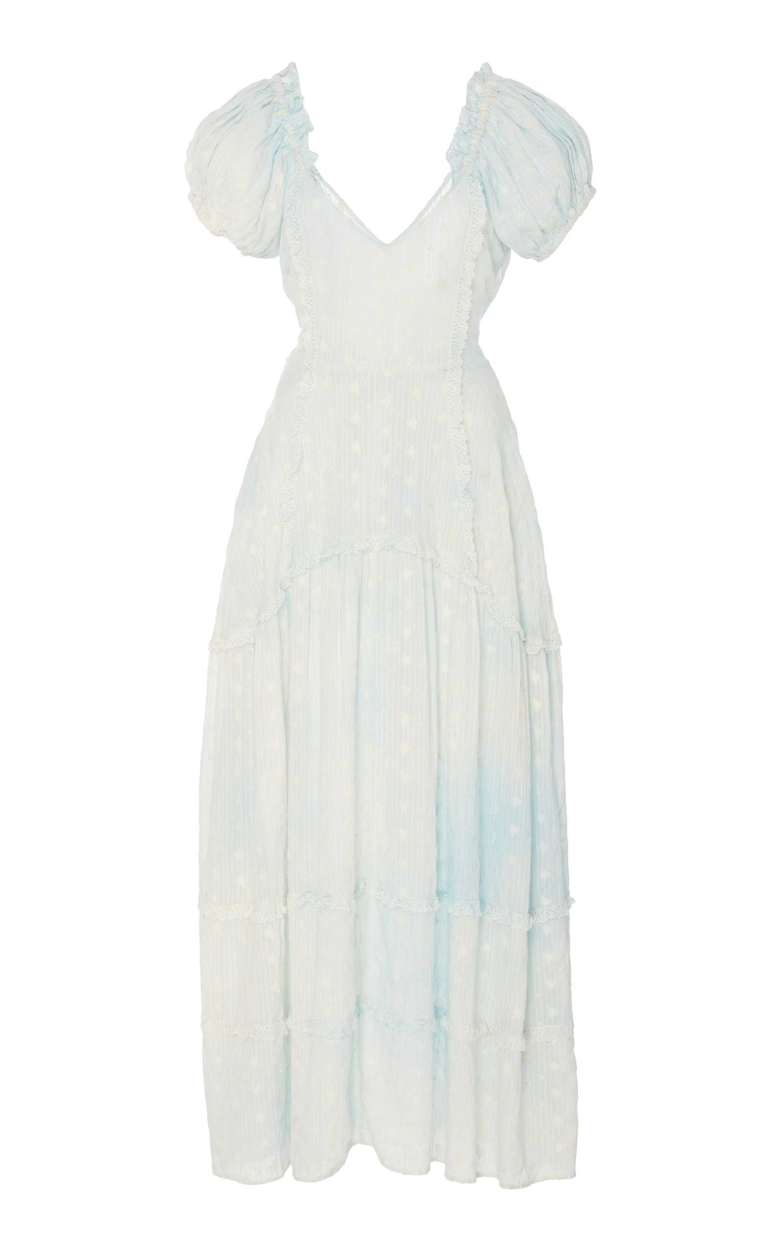 Buy LoveShackFancy Jeanette Cotton Maxi Dress online, shop LoveShackFancy at the best price