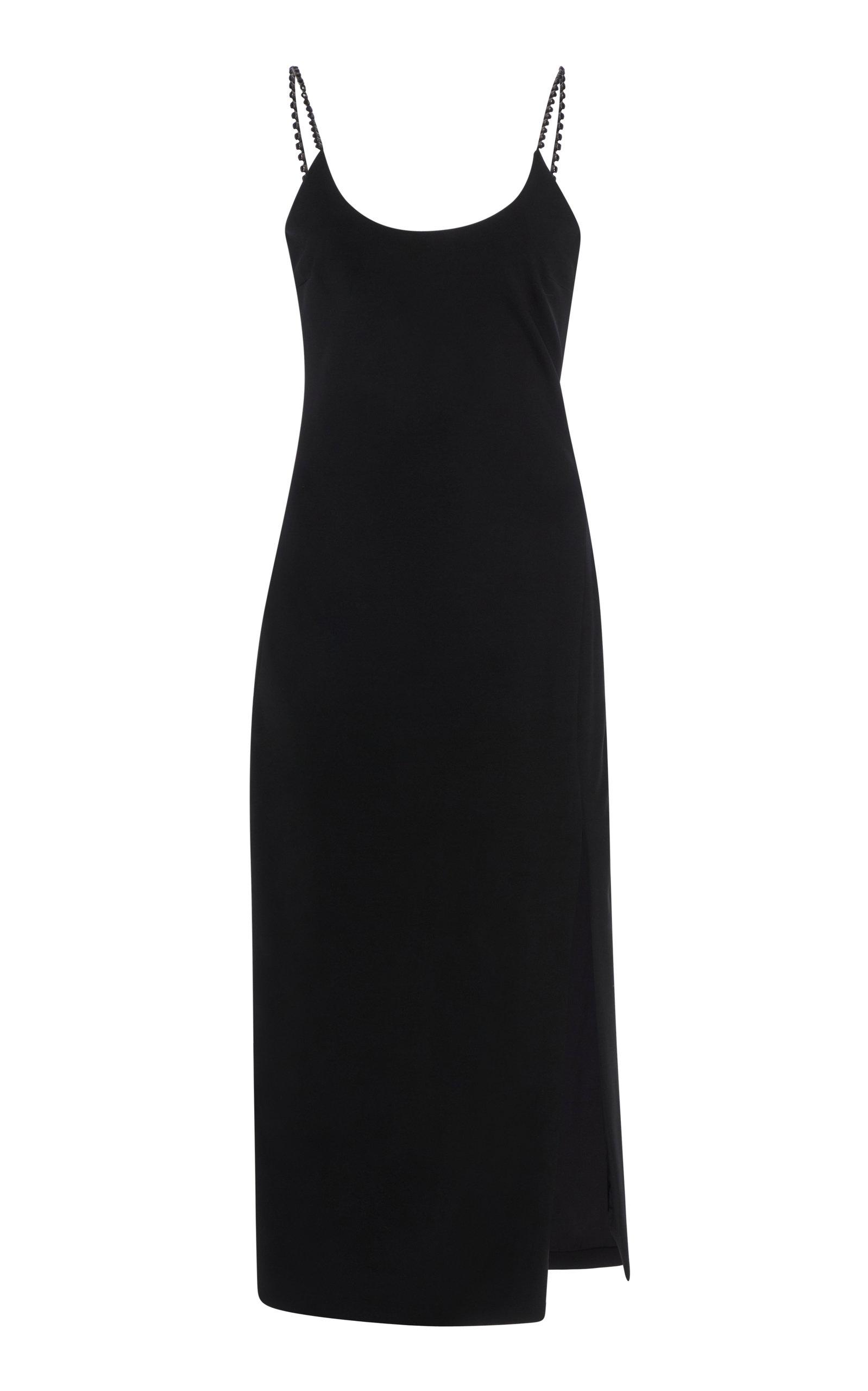 Buy Cushnie Crystal-Embellished Stretch-Crepe Midi Dress online, shop Cushnie at the best price