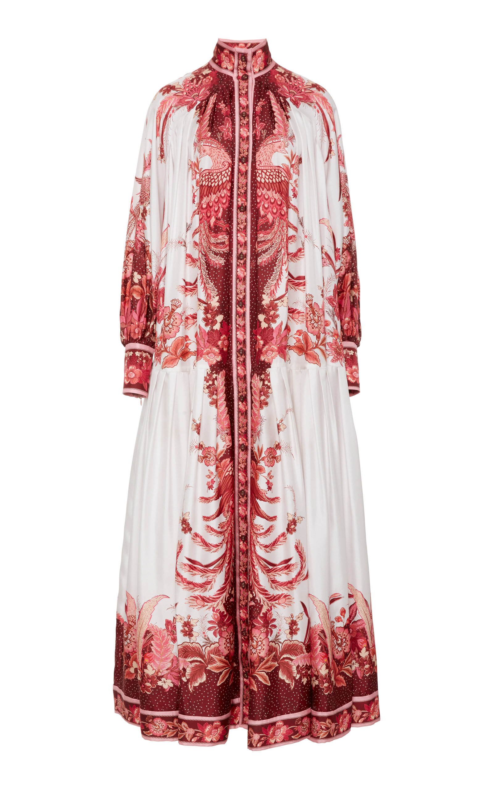 Buy Zimmermann Wavelength Printed Silk Maxi Dress online, shop Zimmermann at the best price
