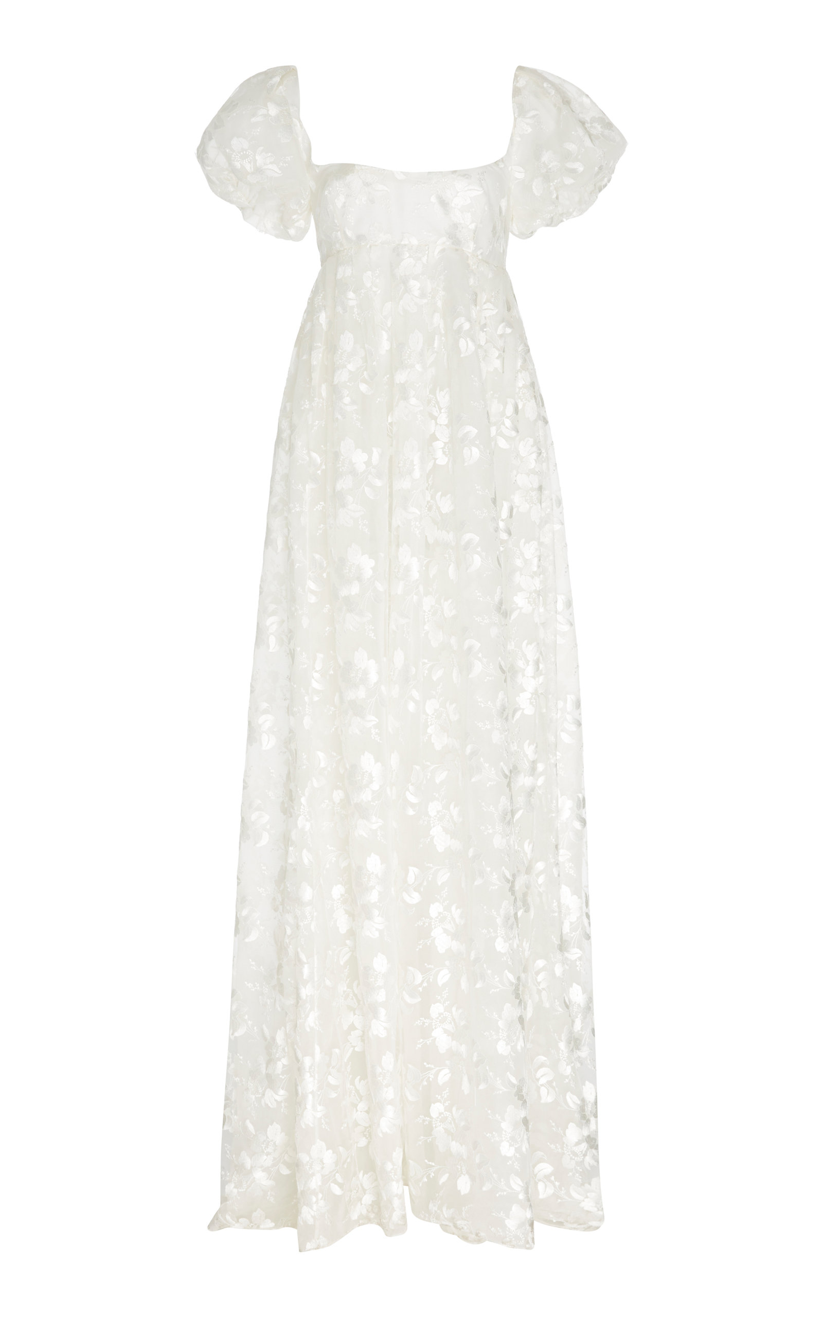 Buy Brock Collection Embroidered Appliquéd Organza Maxi Dress online, shop Brock Collection at the best price