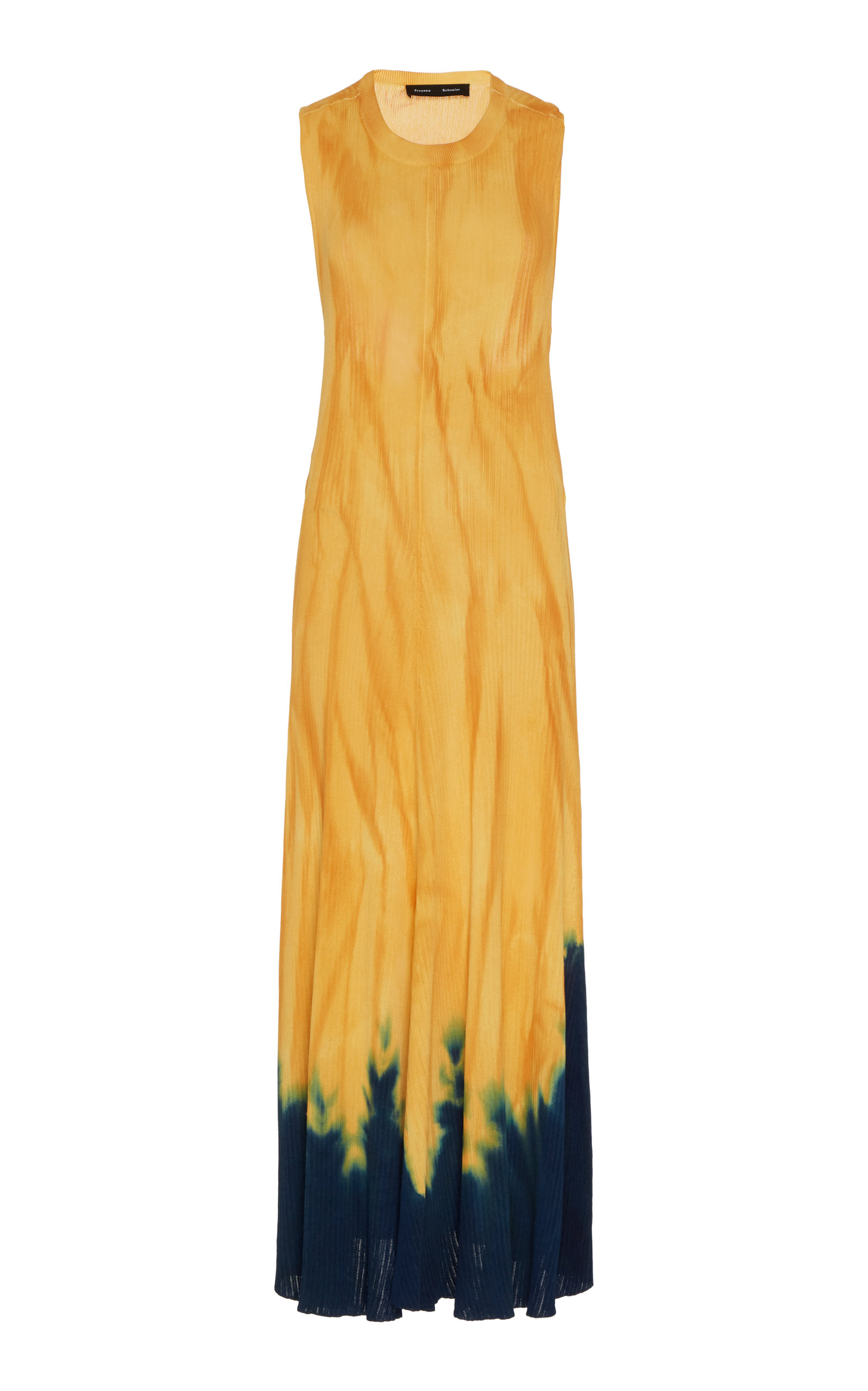 Buy Proenza Schouler Tie-Dyed Sleeveless Knit Midi Dress online, shop Proenza Schouler at the best price