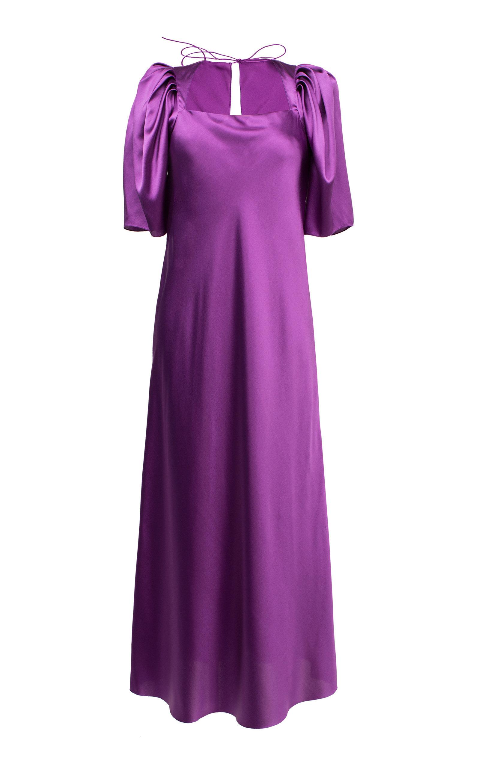 Buy Lake Studio Silk Midi Dress online, shop Lake Studio at the best price