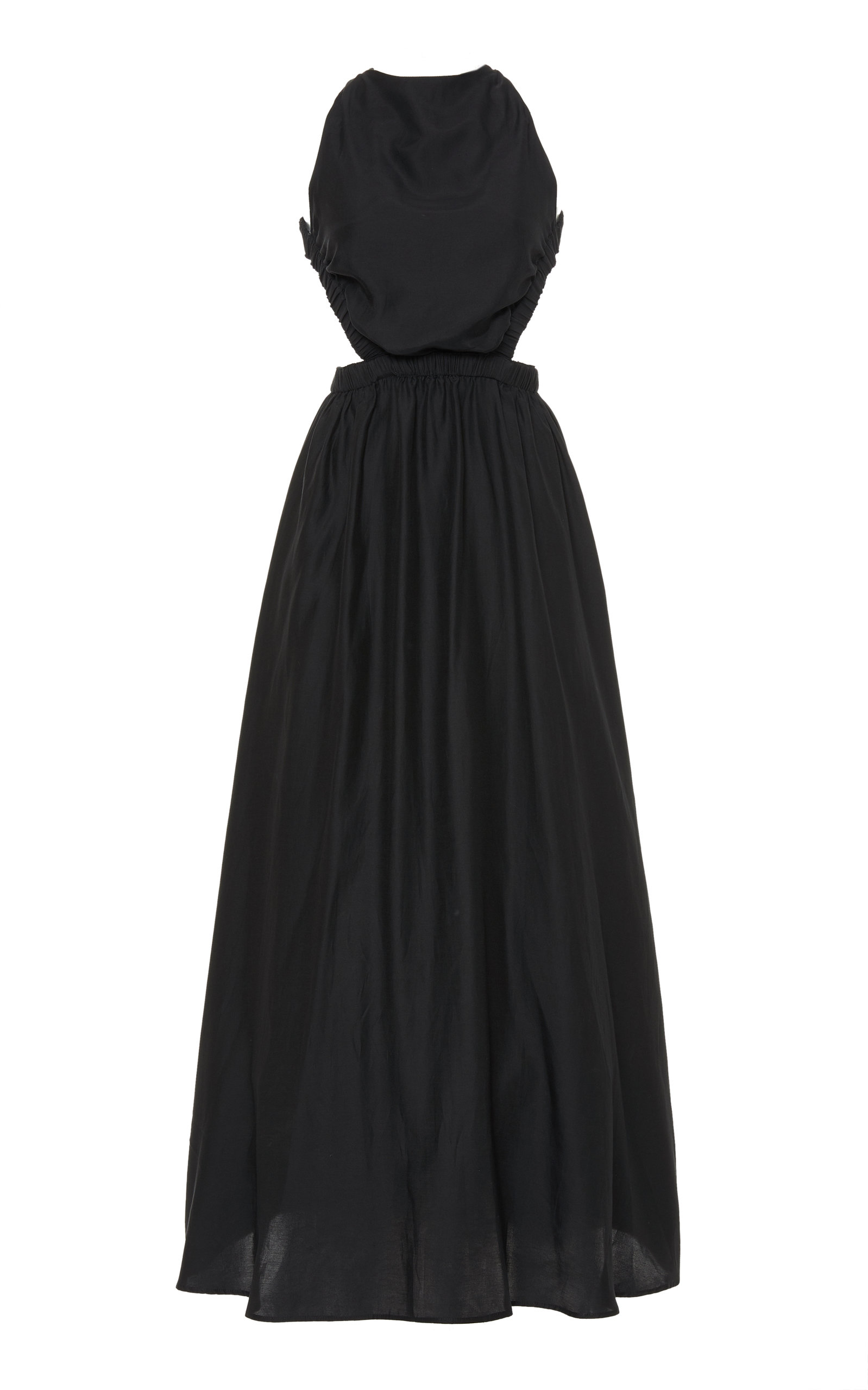 Buy Sir The Label Aramis Cotton-Silk Maxi Dress online, shop Sir The Label at the best price
