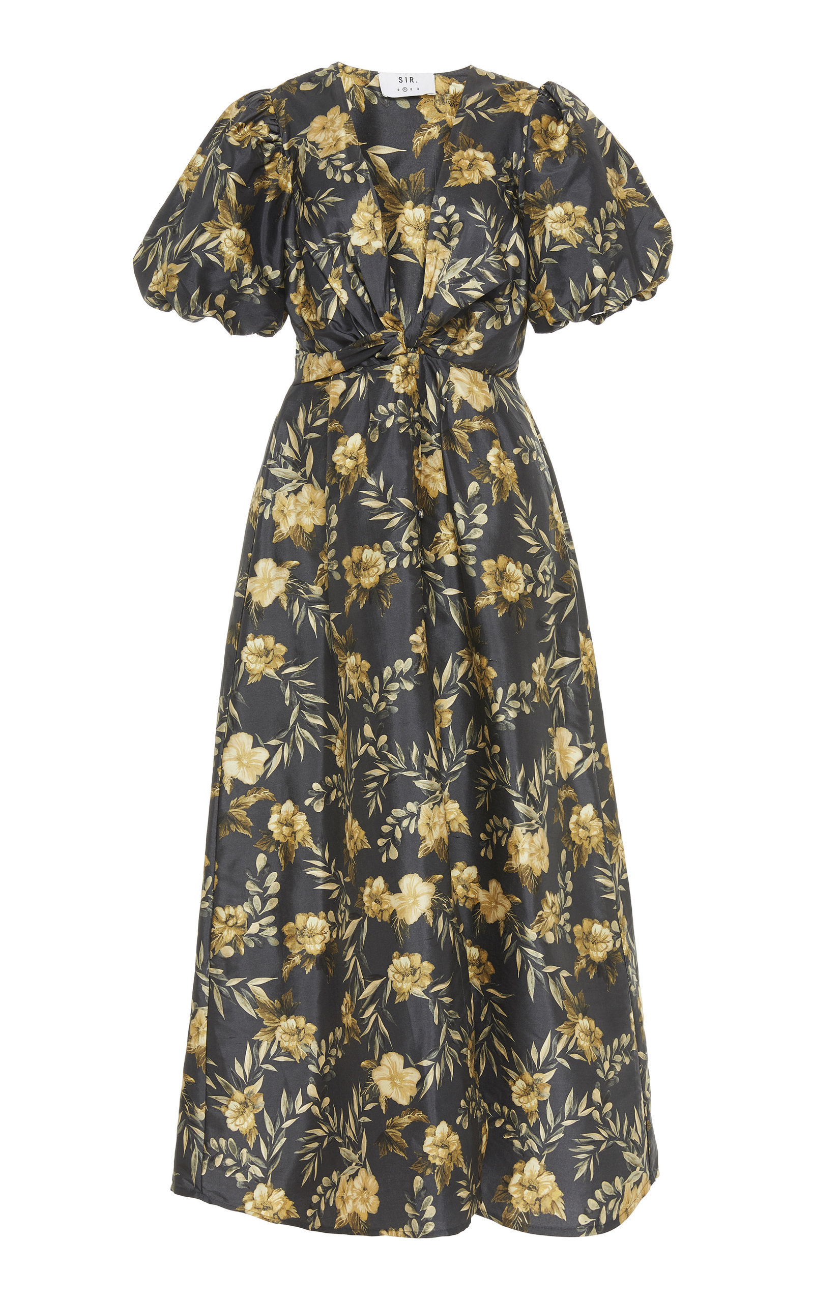 Buy Sir The Label Carmen Floral-Print Silk Maxi Dress online, shop Sir The Label at the best price
