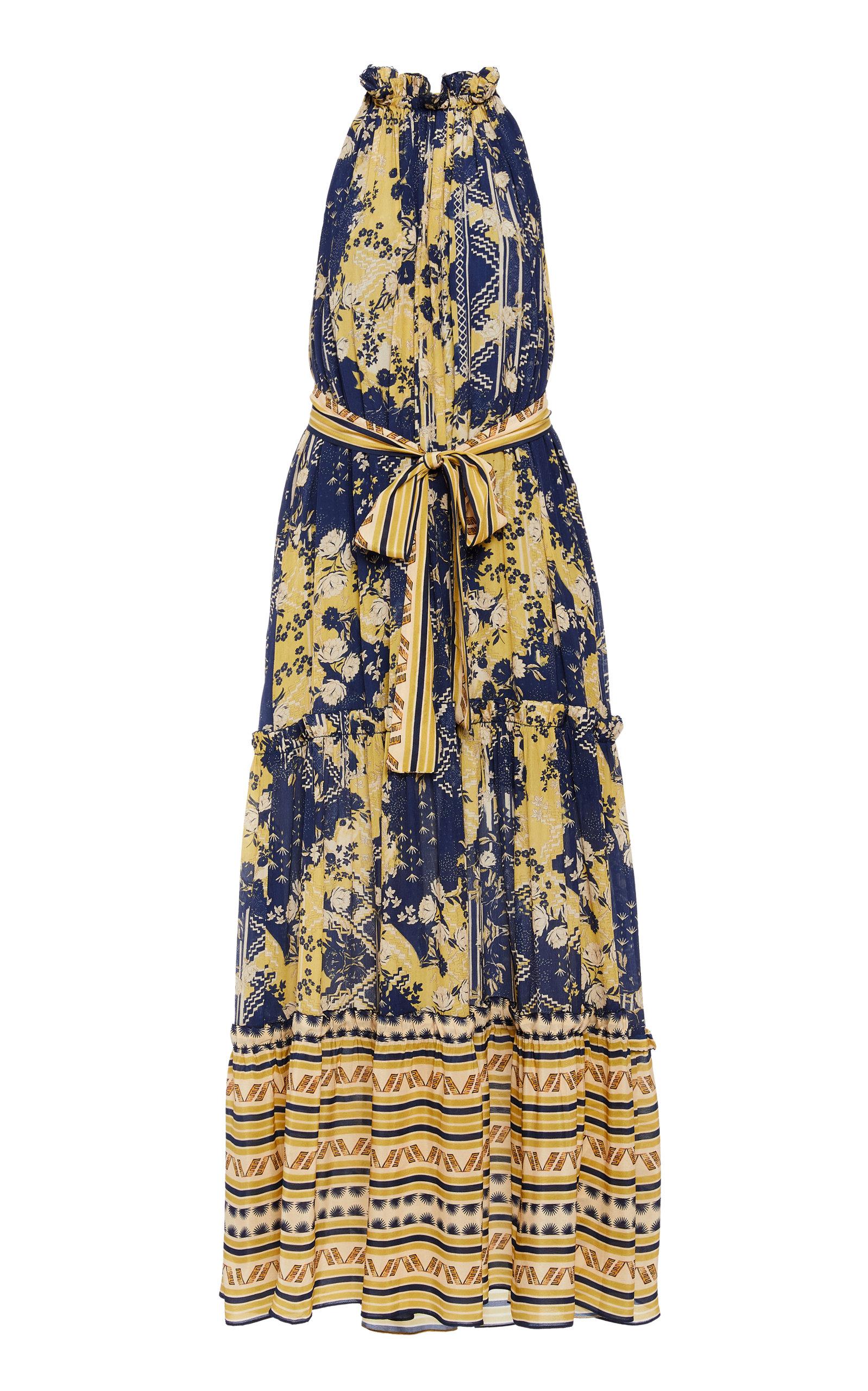 Buy Chufy Lima Pleated Chiffon Dress online, shop Chufy at the best price
