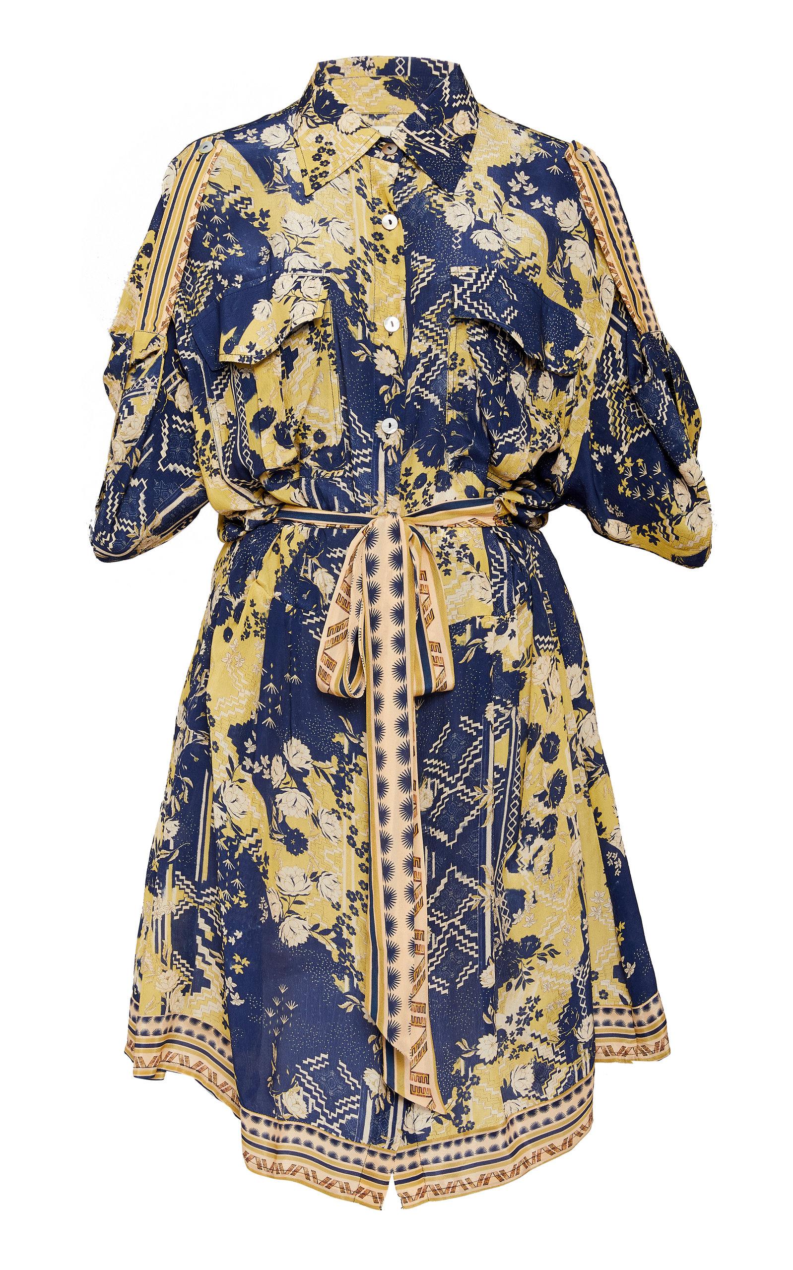 Buy Chufy Lima Chiffon Safari Dress online, shop Chufy at the best price