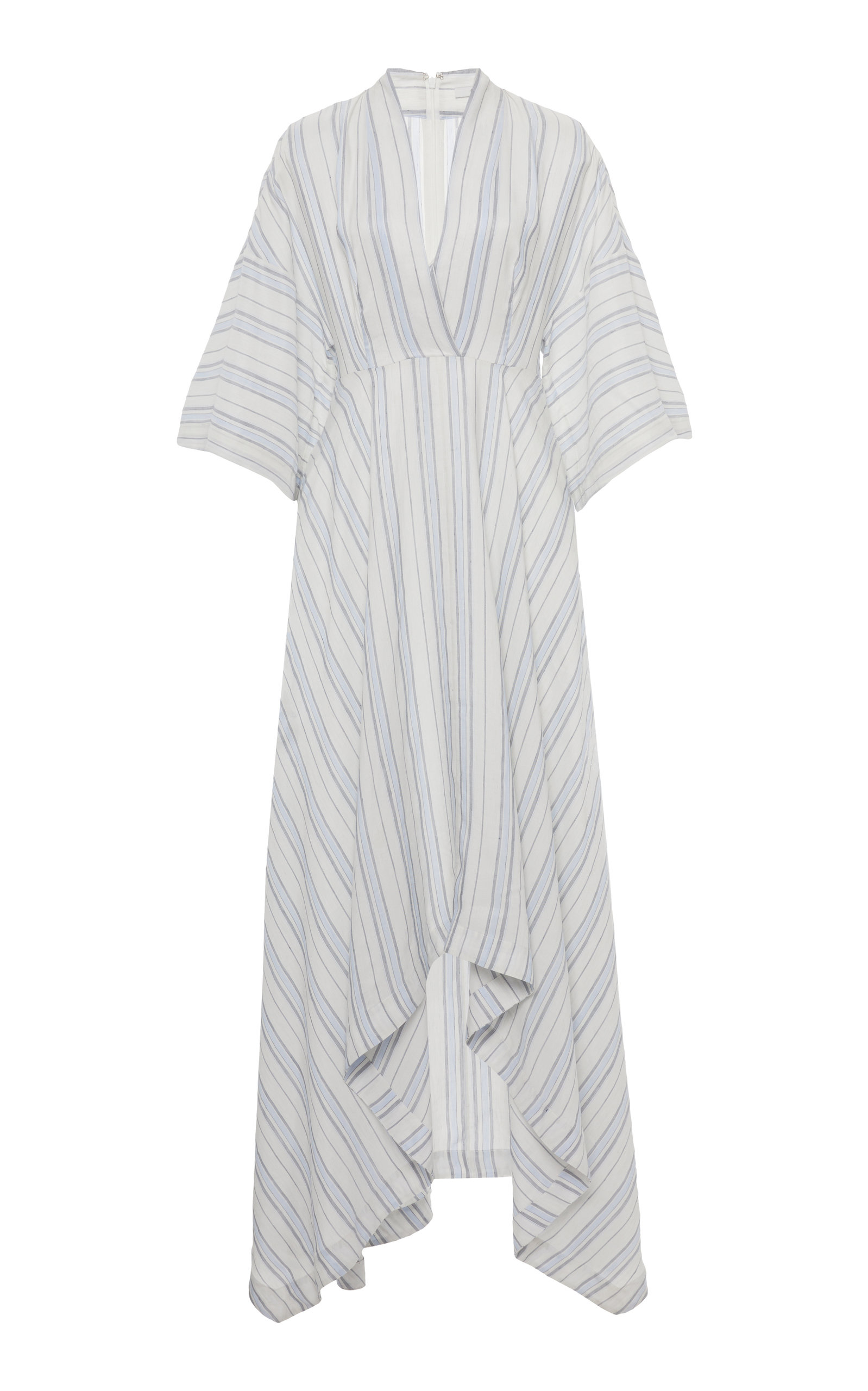 Buy Co Striped Voile Midi Dress online, shop Co at the best price