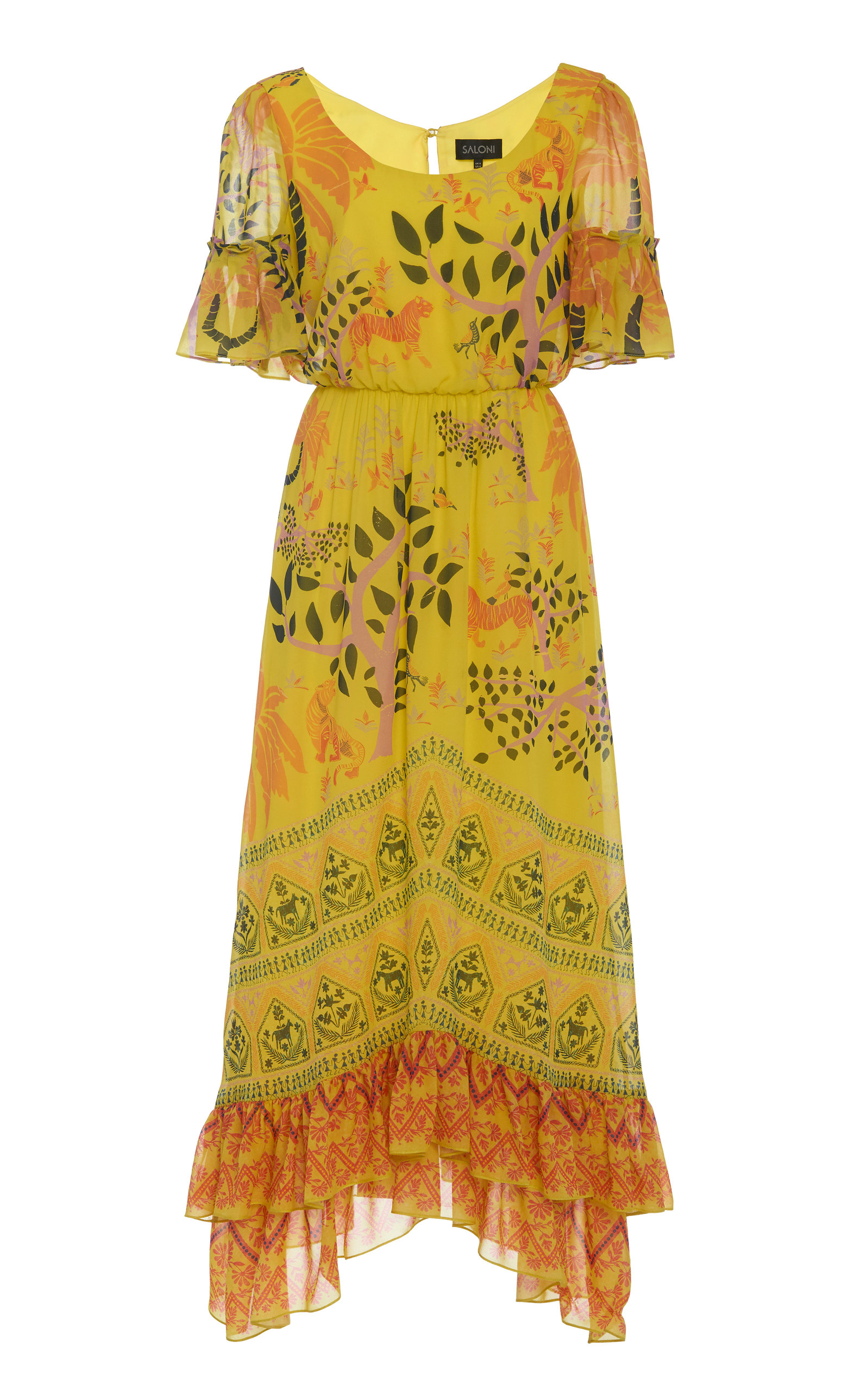 Buy Saloni Pippa Dress online, shop Saloni at the best price
