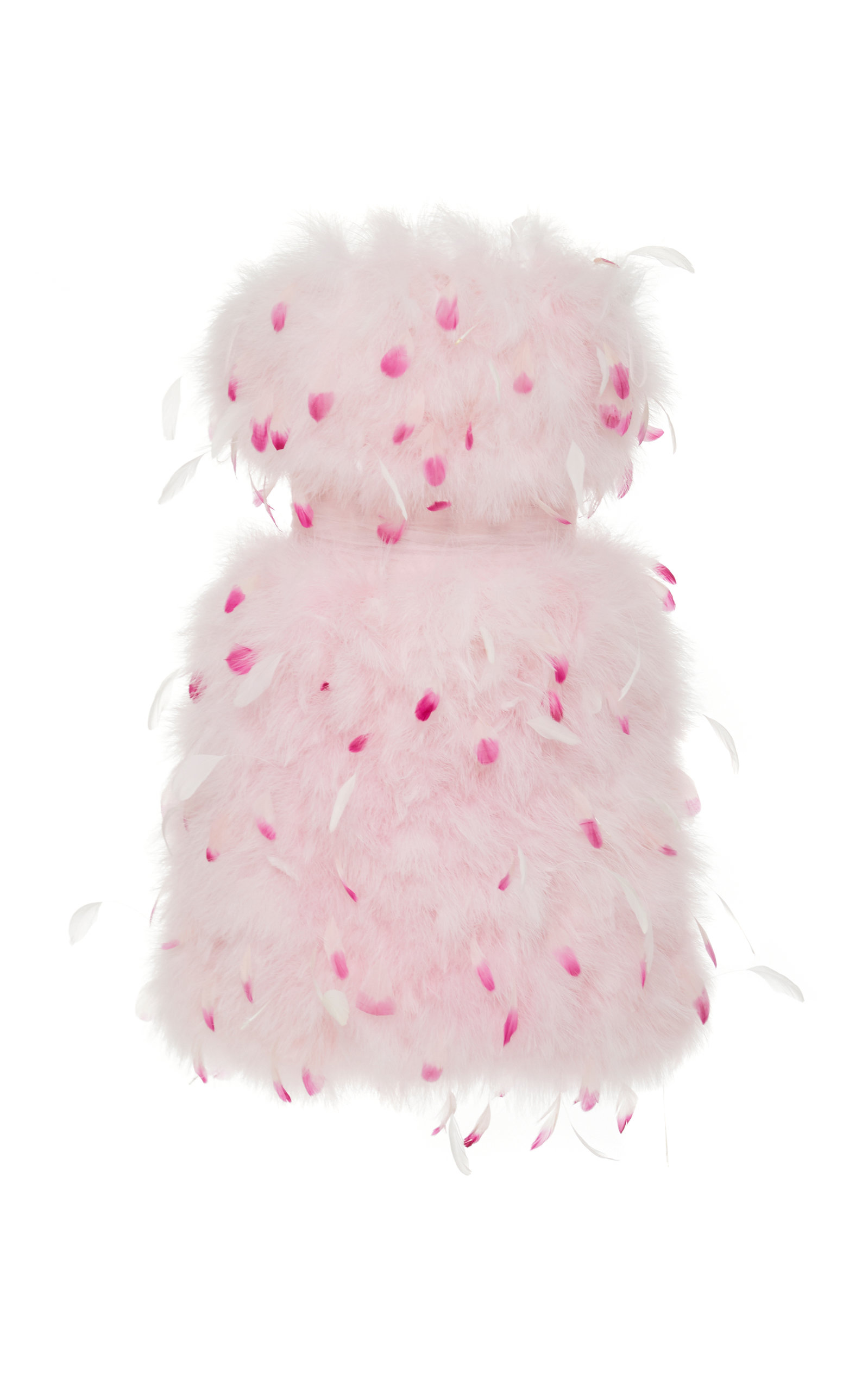 Buy Pamella Roland Strapless Feather-Embellished Tulle Dress online, shop Pamella Roland at the best price