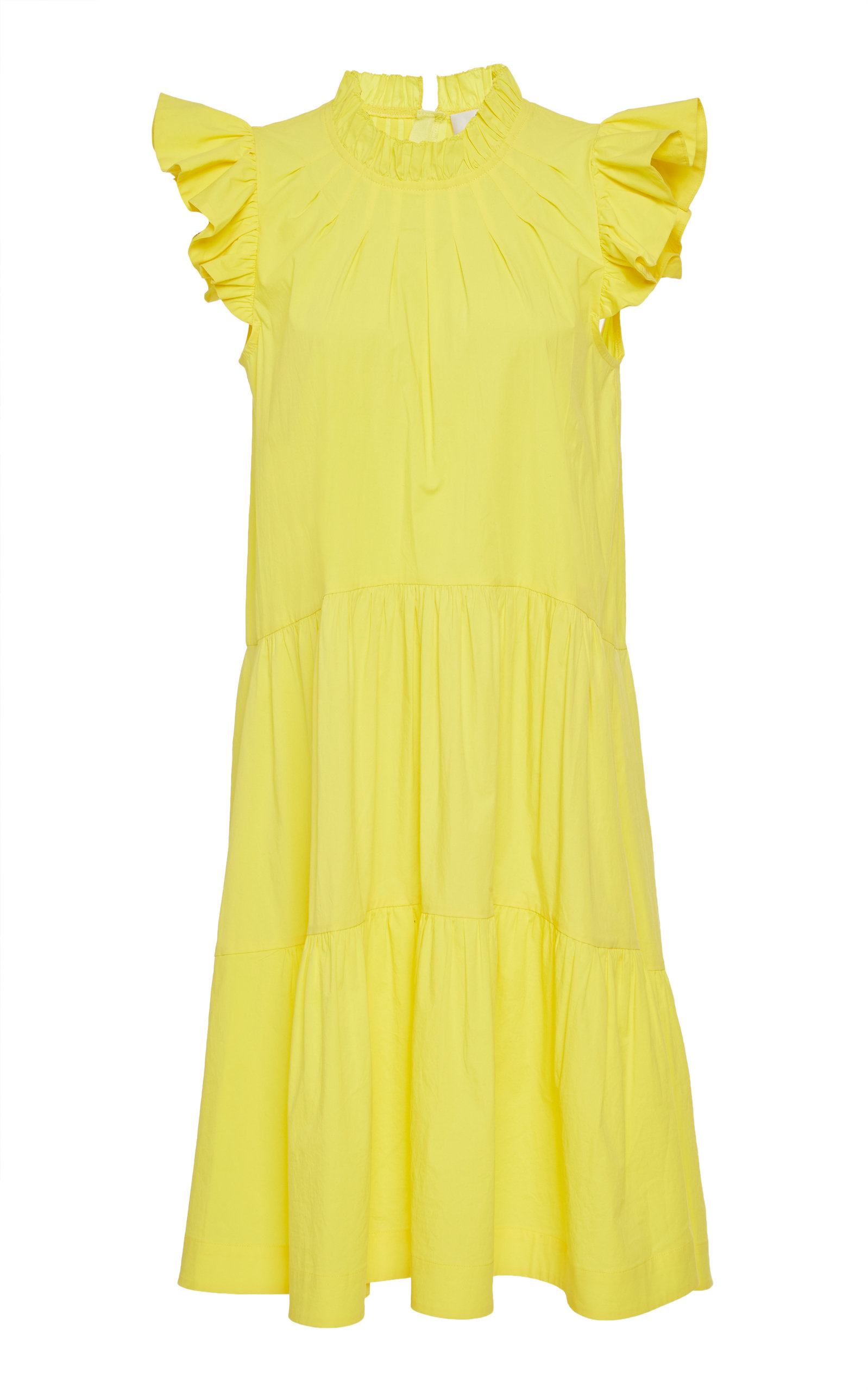 Buy Sea Tabitha Ruffled Cotton-Blend Dress online, shop Sea at the best price