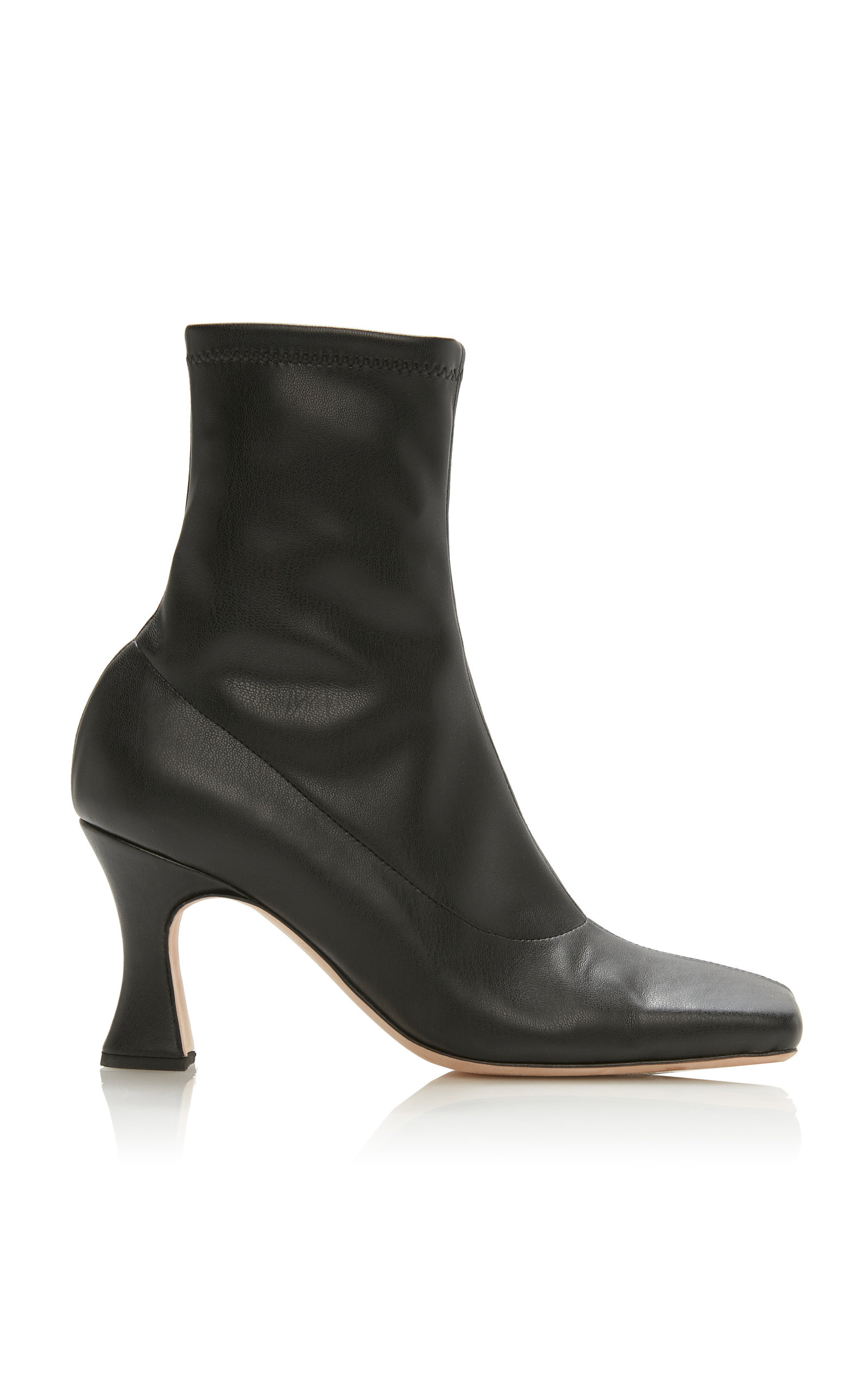 Priscilla Leather Ankle Boots