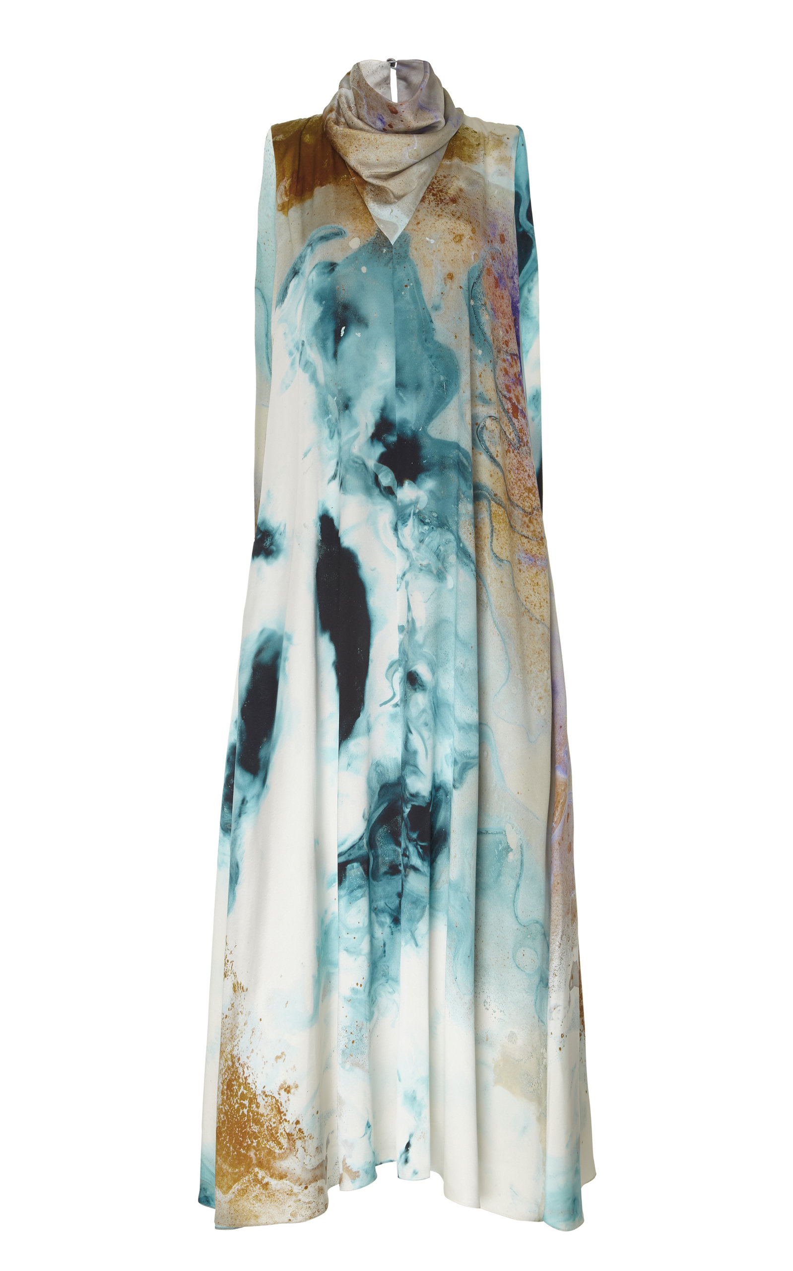 Buy ROKSANDA Leesha Printed Silk Maxi Dress online, shop ROKSANDA at the best price