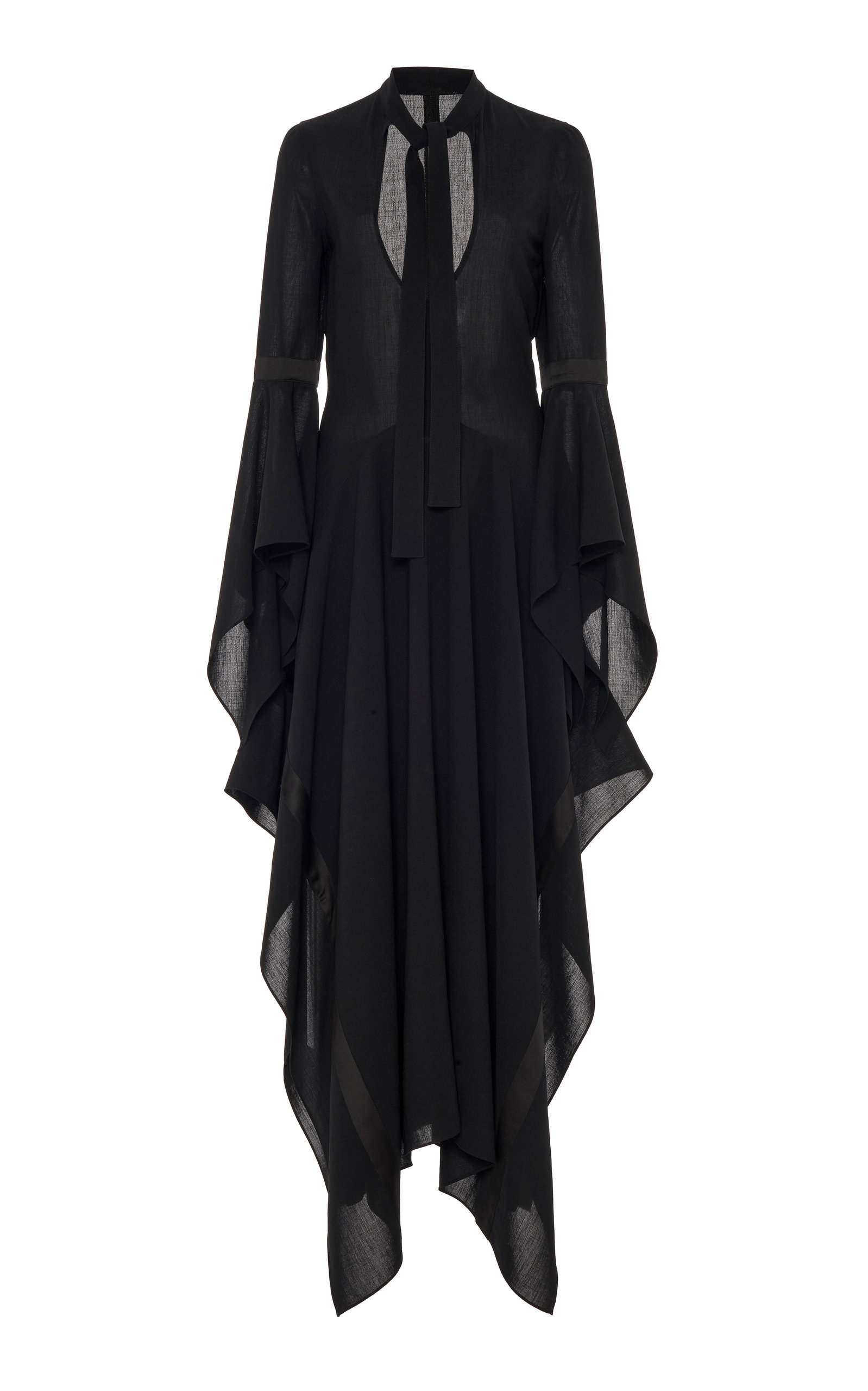 Buy JW Anderson Draped Georgette Dress online, shop JW Anderson at the best price