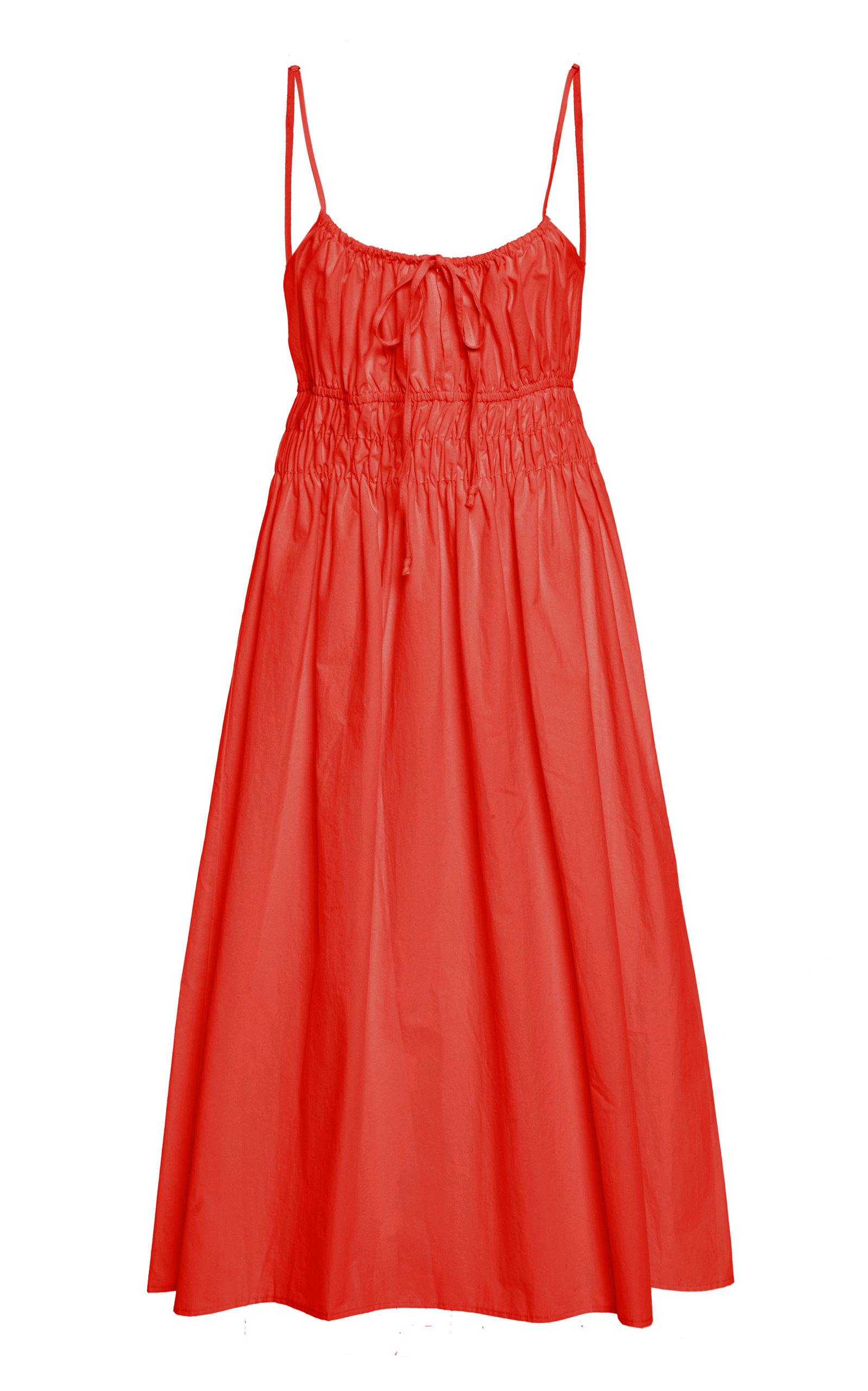 Buy Ciao Lucia Gabriela Cotton A-Line Midi Dress online, shop Ciao Lucia at the best price