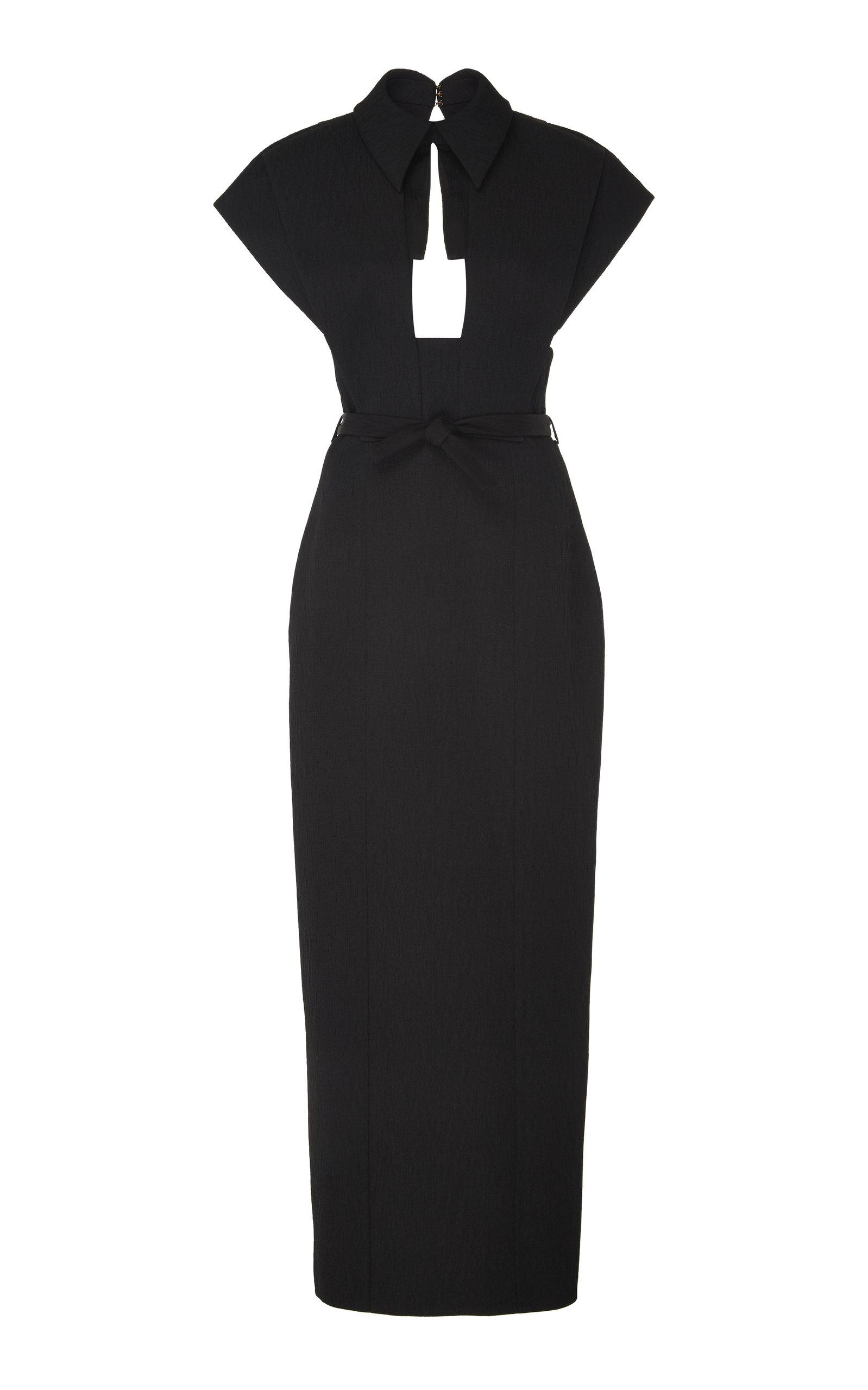 Buy Emilia Wickstead Cutout Cloqué Dress online, shop Emilia Wickstead at the best price