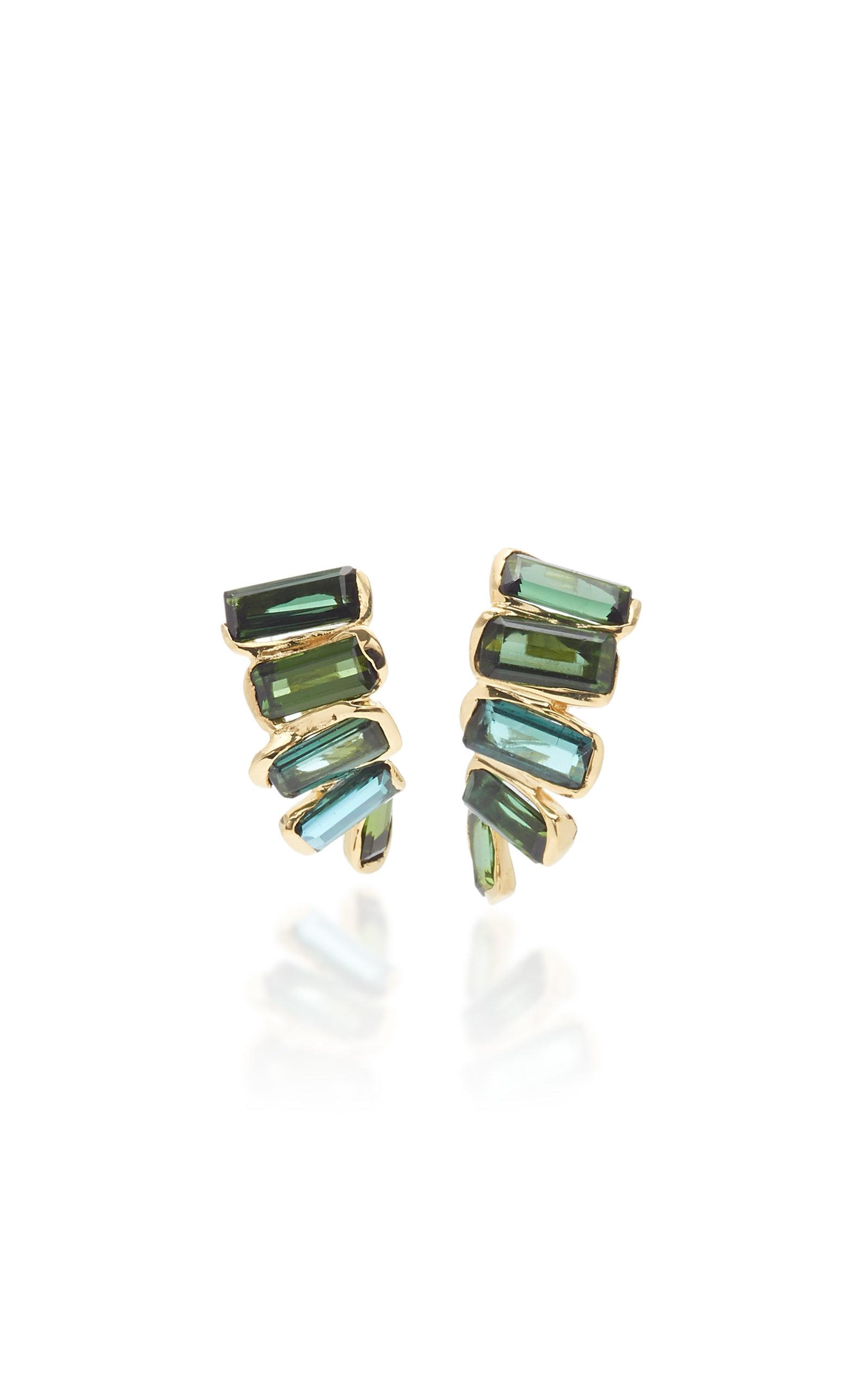 Women's Kaxinawa 18K Gold And Tourmaline Earrings