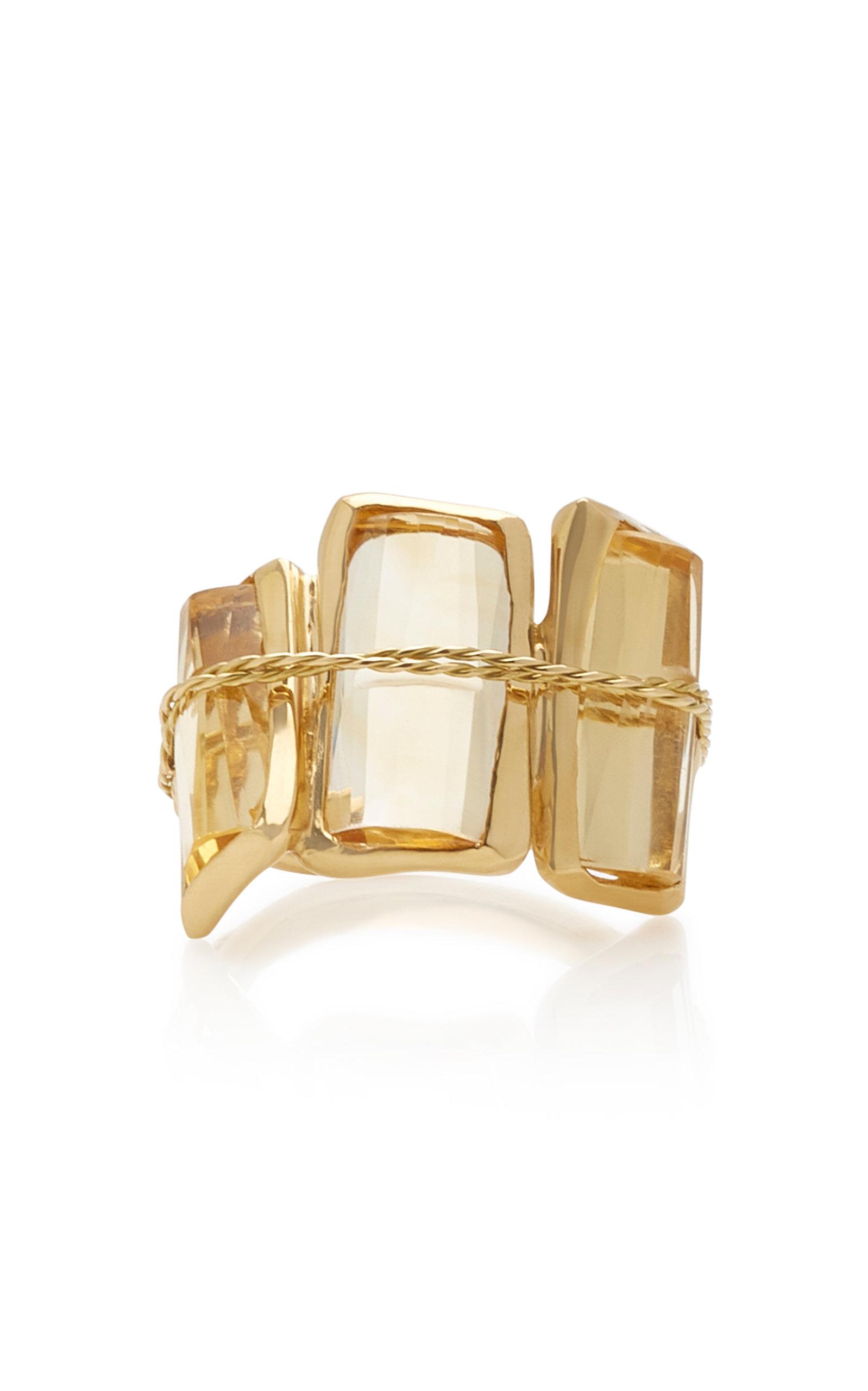 Women's Tucum III 18K Gold and Quartz Ring