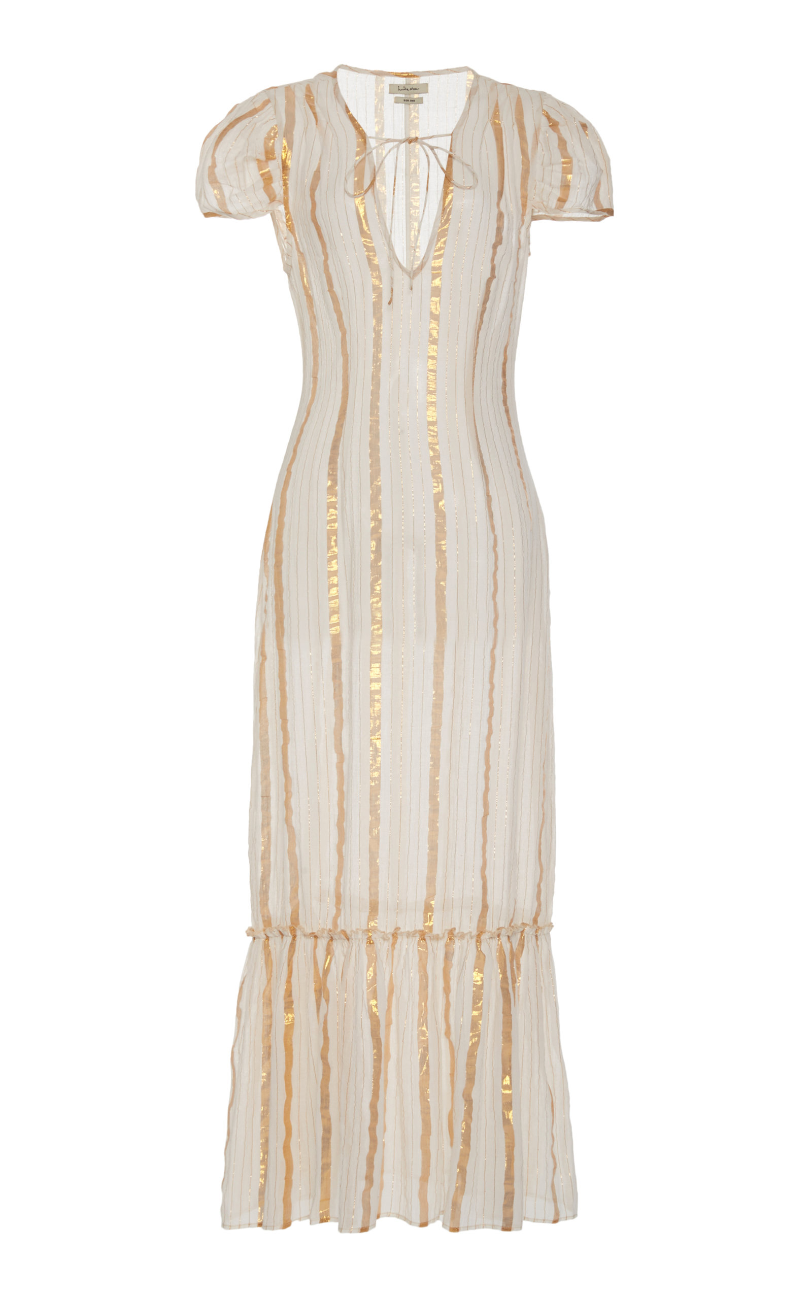 Buy Innika Choo Delle Ichus Cotton-Blend Maxi Dress online, shop Innika Choo at the best price
